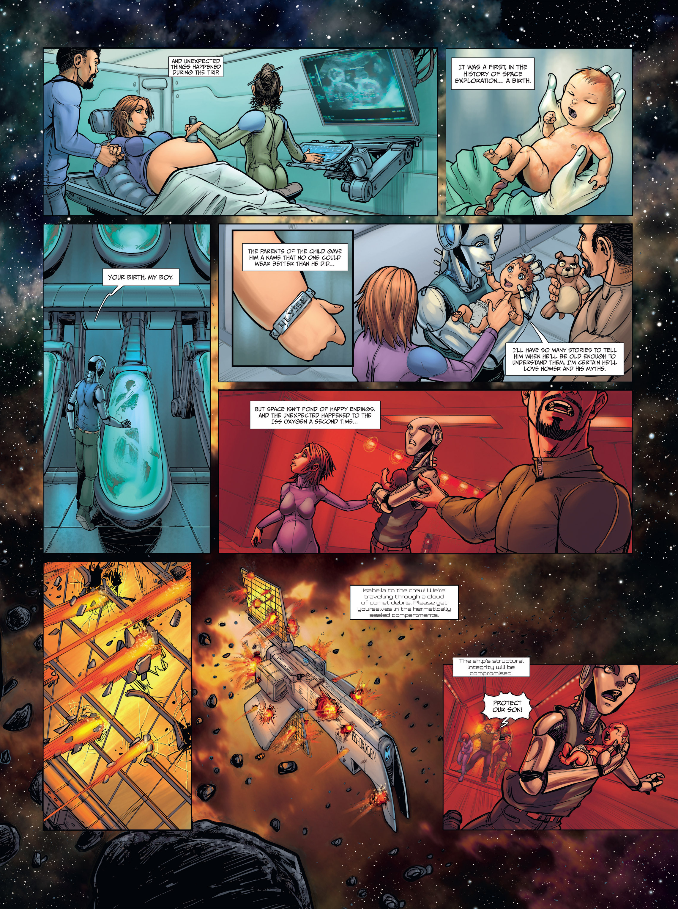 Read online Androïds comic -  Issue #2 - 7