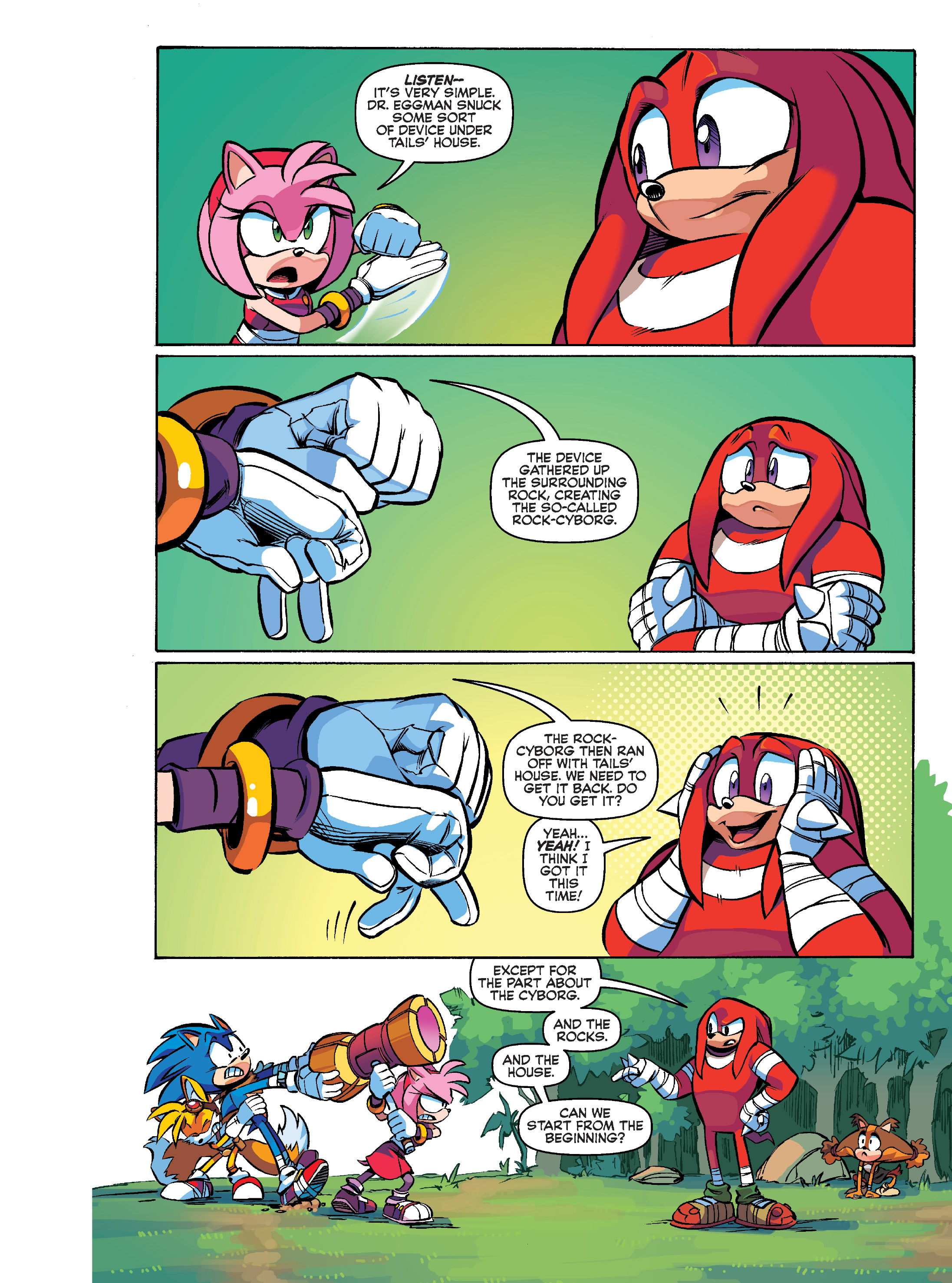 Read online Sonic Super Digest comic -  Issue #10 - 12