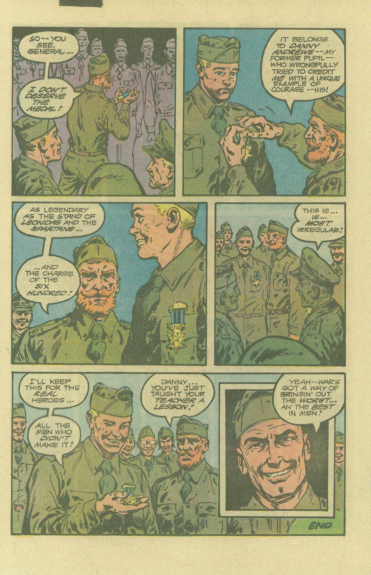 Read online Sgt. Rock comic -  Issue #402 - 19
