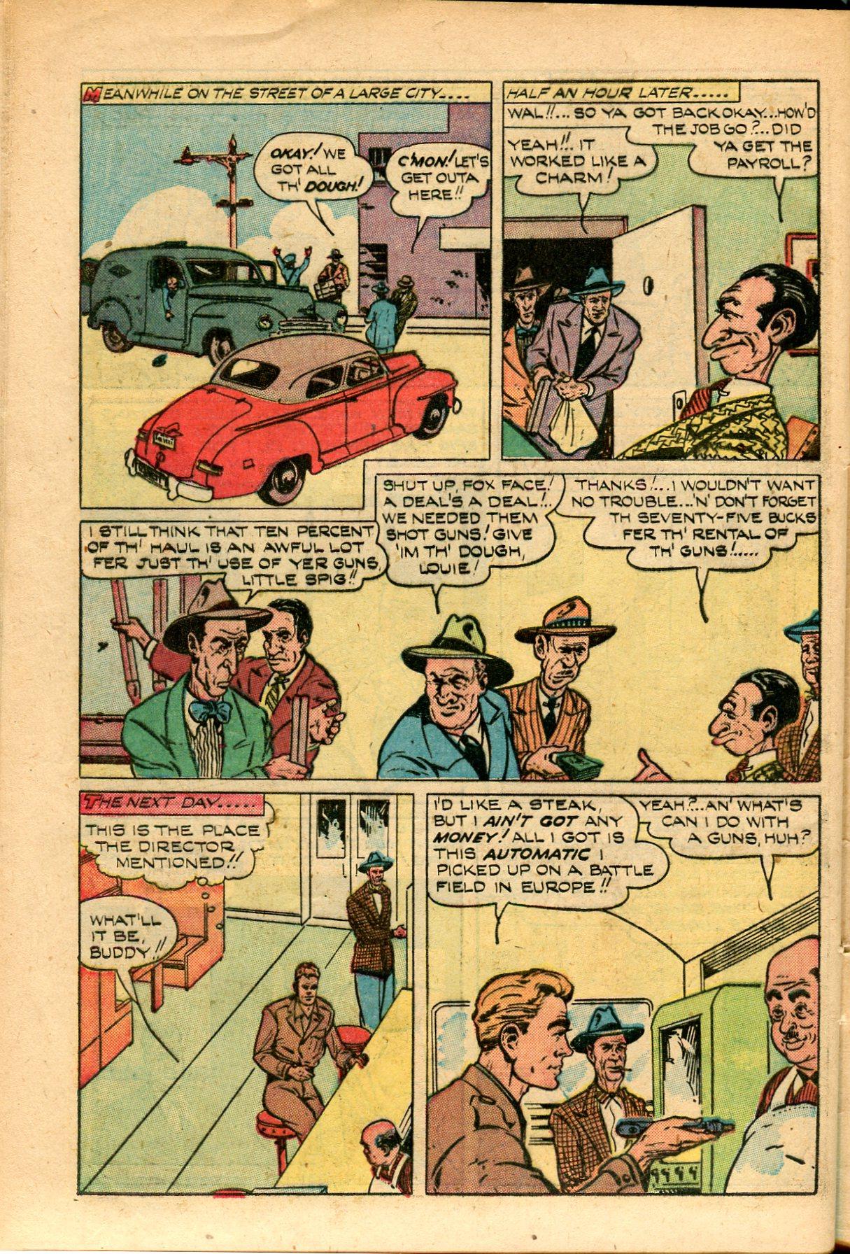 Read online Shadow Comics comic -  Issue #82 - 42