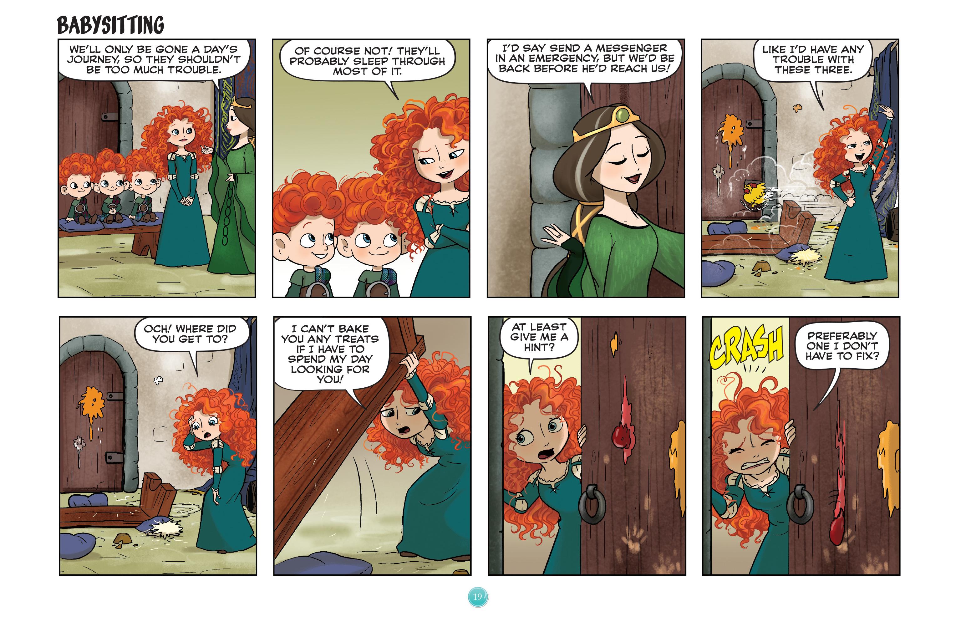 Read online Disney Princess comic -  Issue #7 - 22