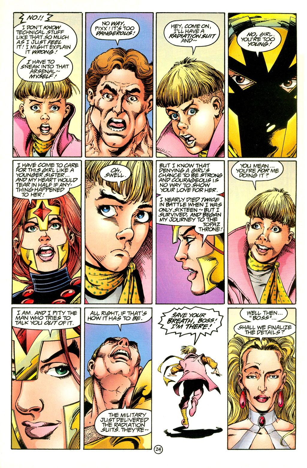 Read online UltraForce (1994) comic -  Issue #4 - 24