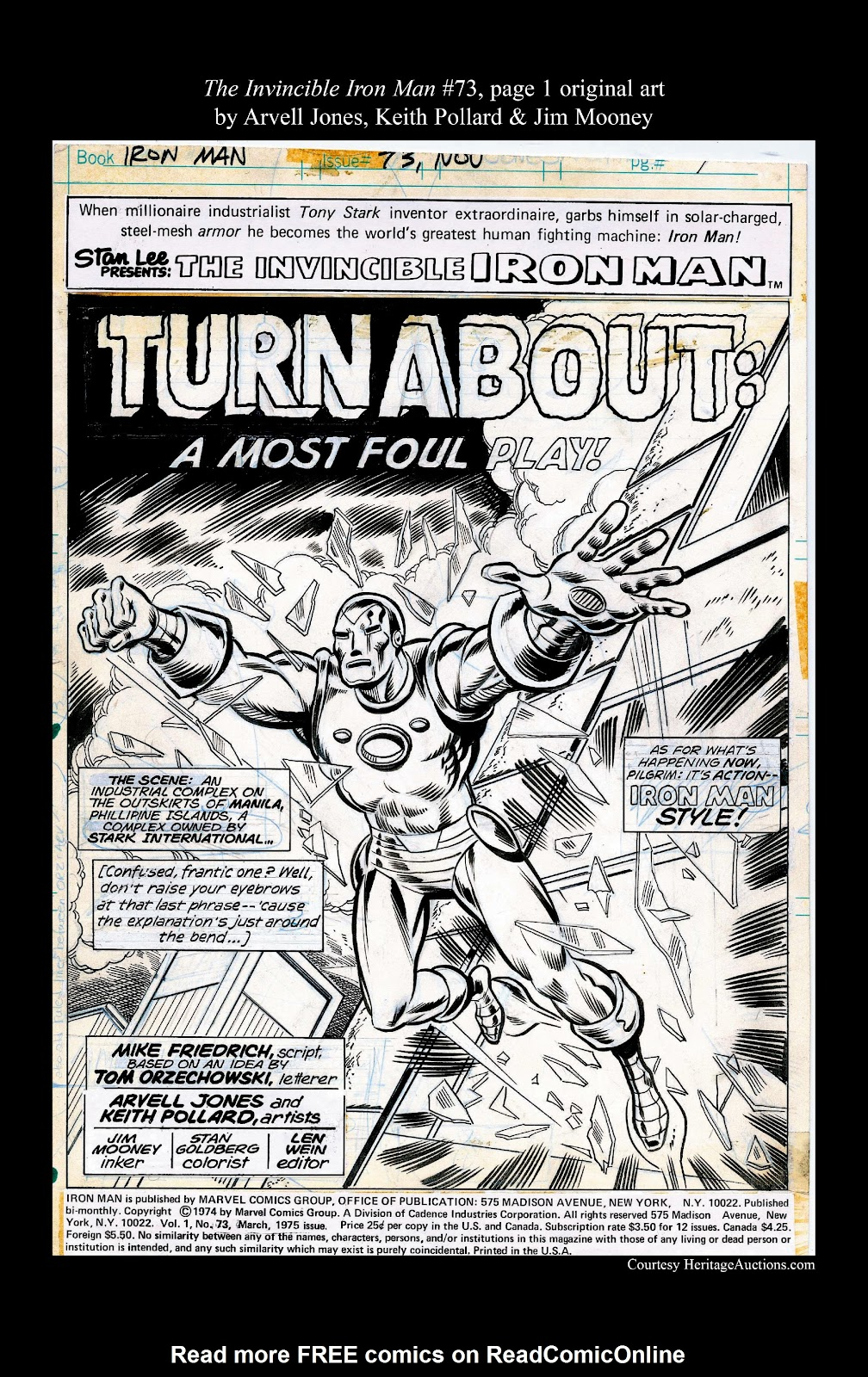 Read online Marvel Masterworks: The Invincible Iron Man comic -  Issue # TPB 10 (Part 3) - 54