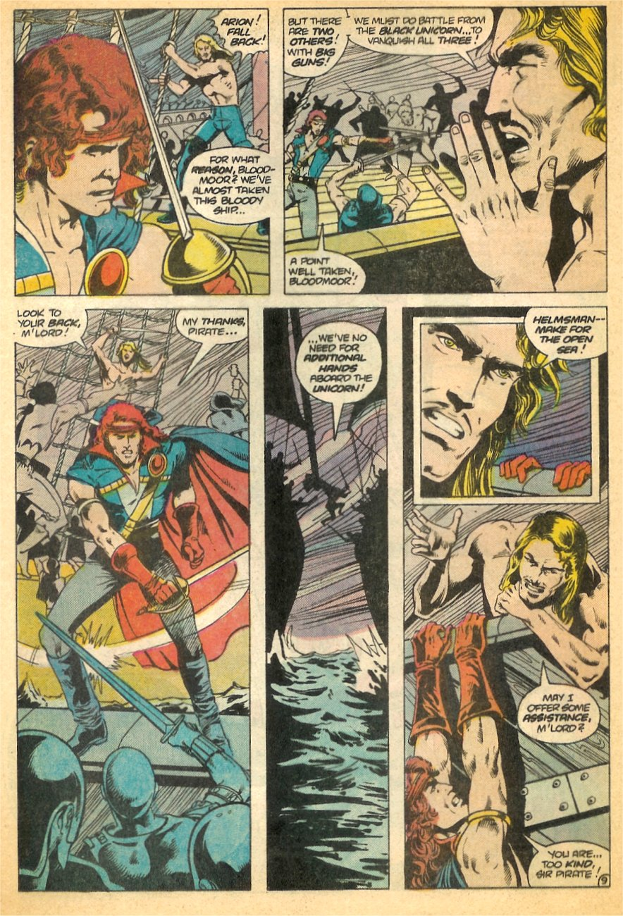 Read online Arion, Lord of Atlantis comic -  Issue #21 - 10