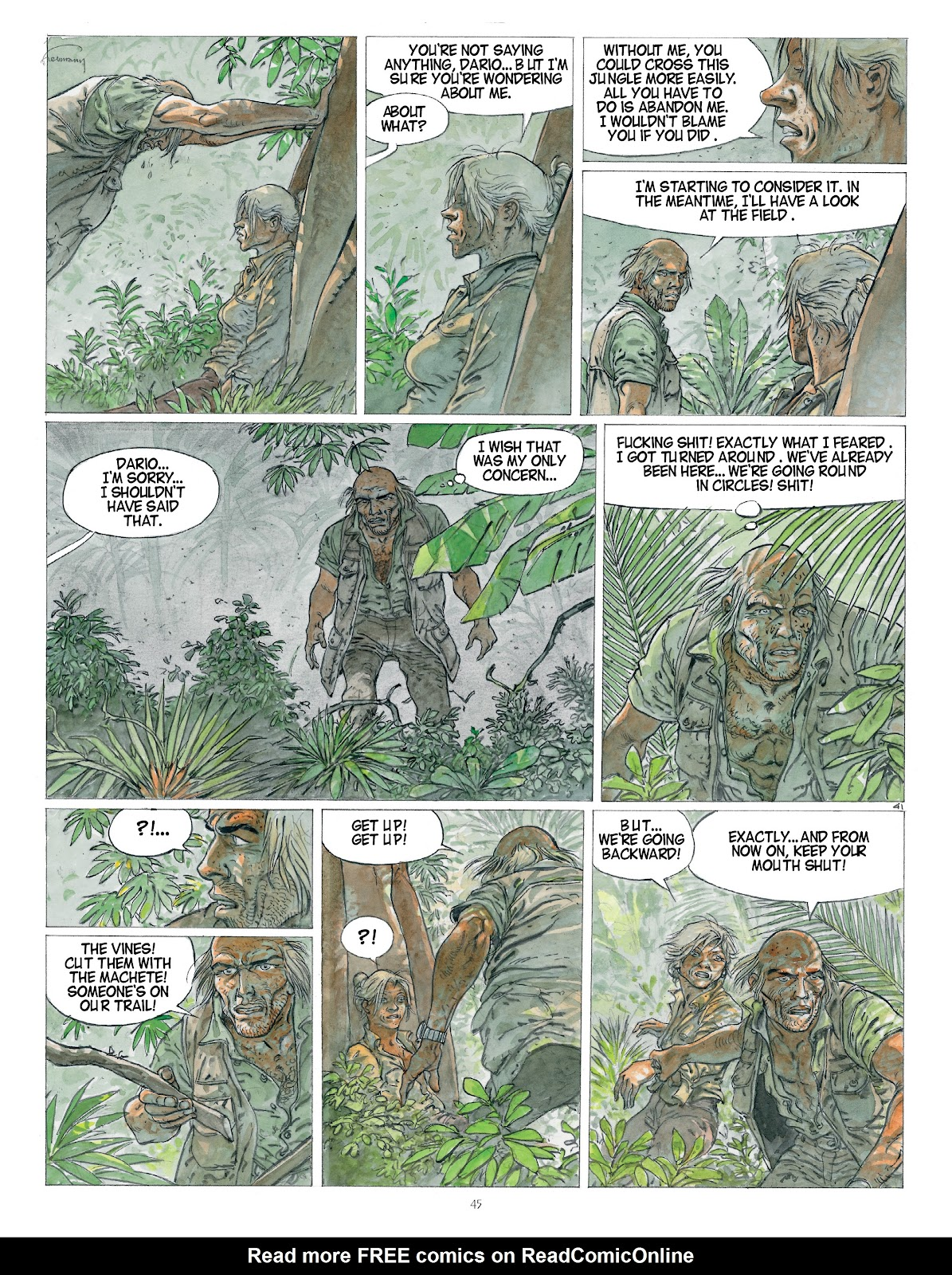Read online Afrika comic -  Issue # TPB - 45