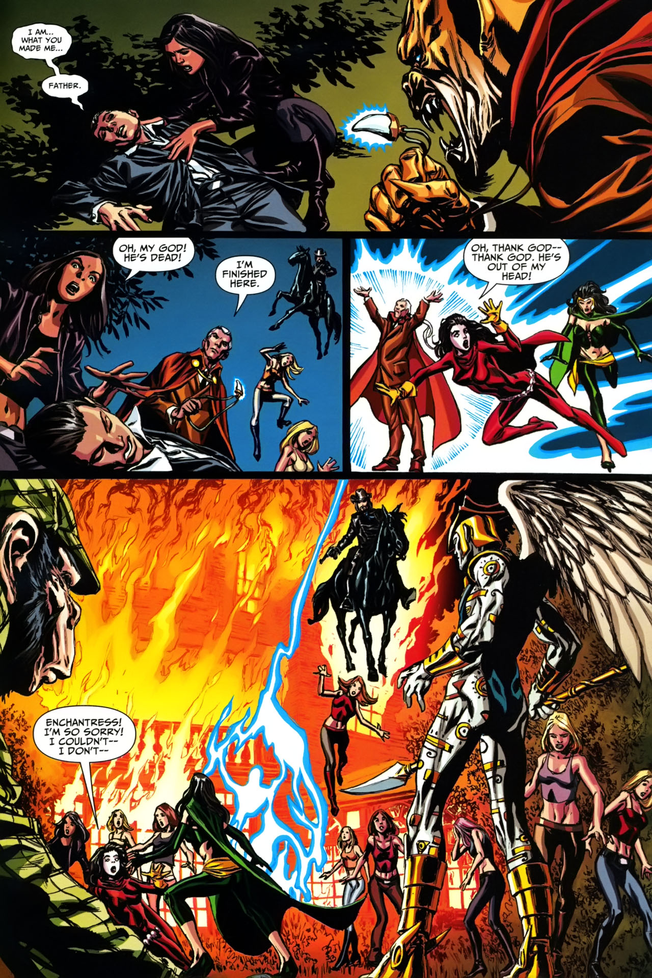 Read online Shadowpact comic -  Issue #19 - 20