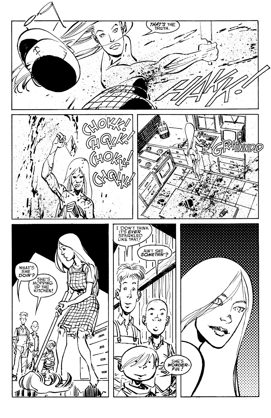 Read online Savage Dragon Archives comic -  Issue # TPB 6 (Part 6) - 7