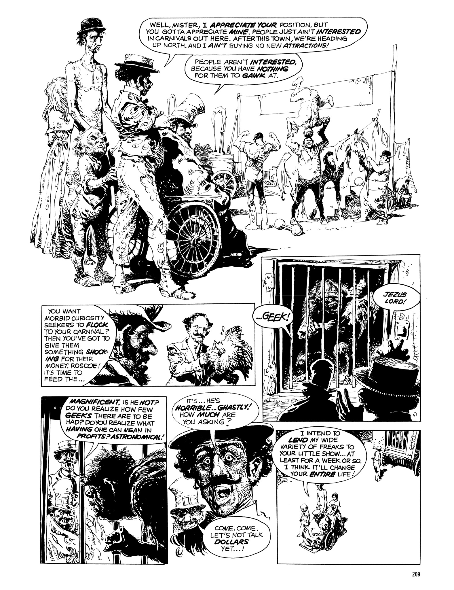 Read online Eerie Archives comic -  Issue # TPB 14 - 210