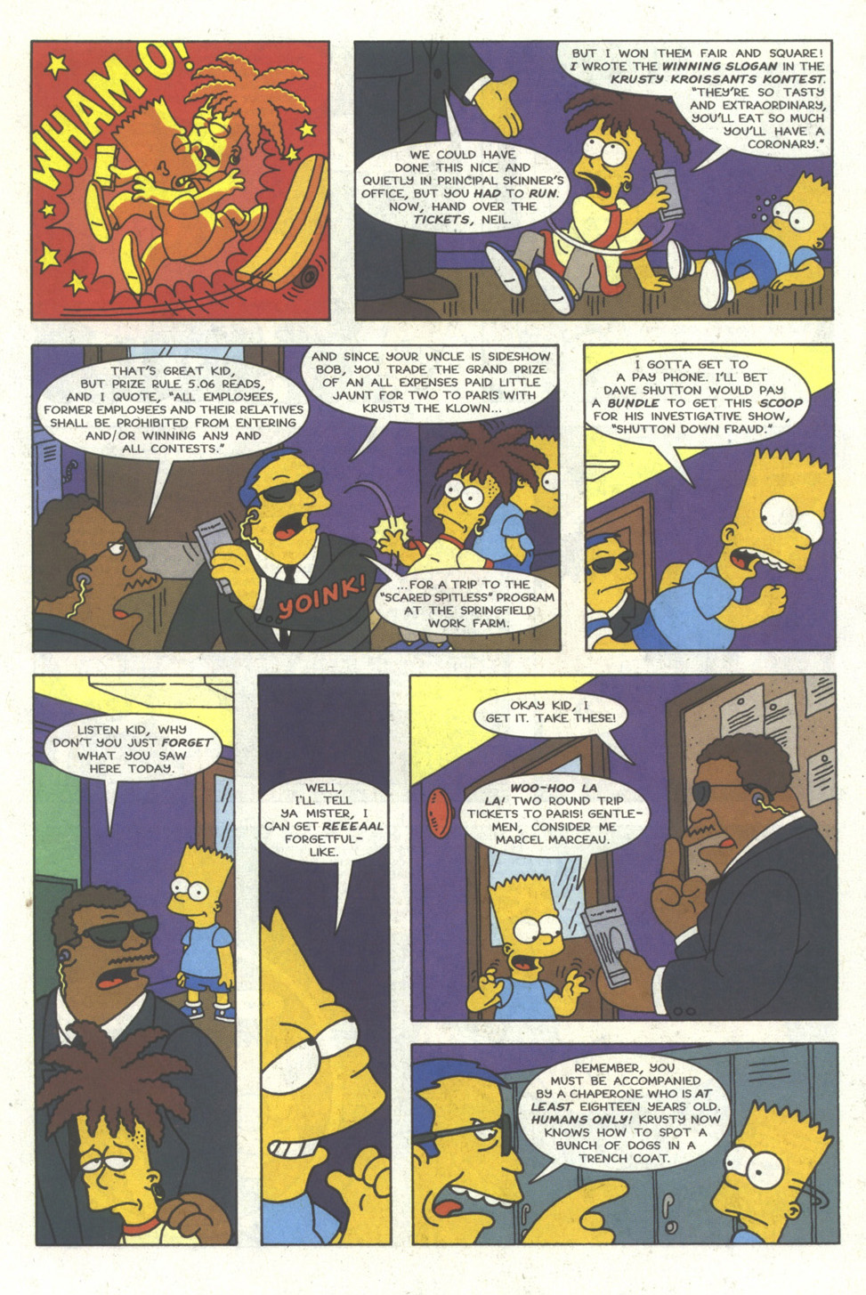 Read online Simpsons Comics comic -  Issue #23 - 4