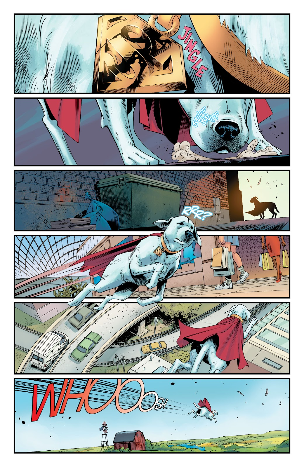 Read online Supergirl (2016) comic -  Issue #38 - 3