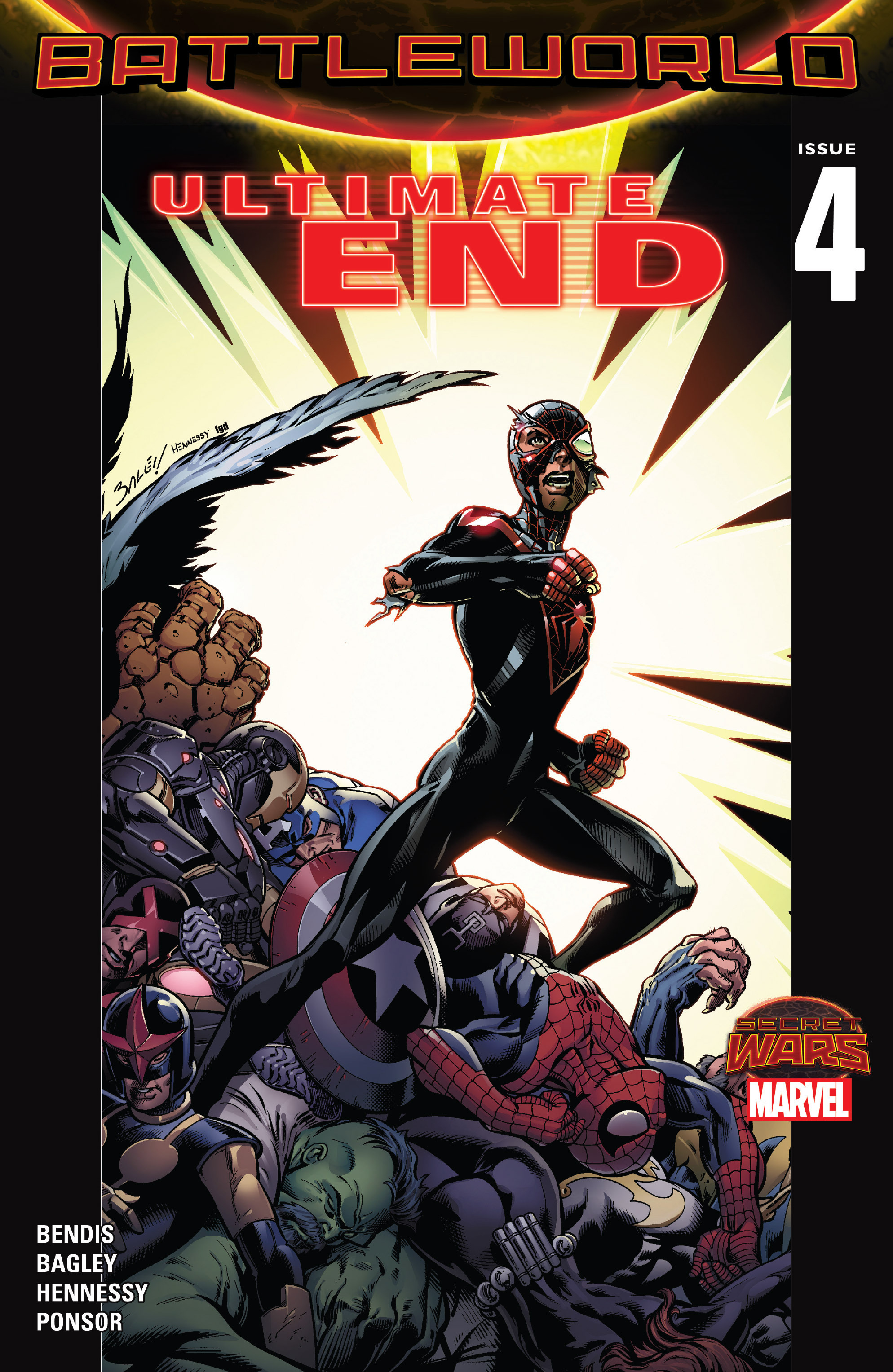 Read online Ultimate End comic -  Issue #4 - 1