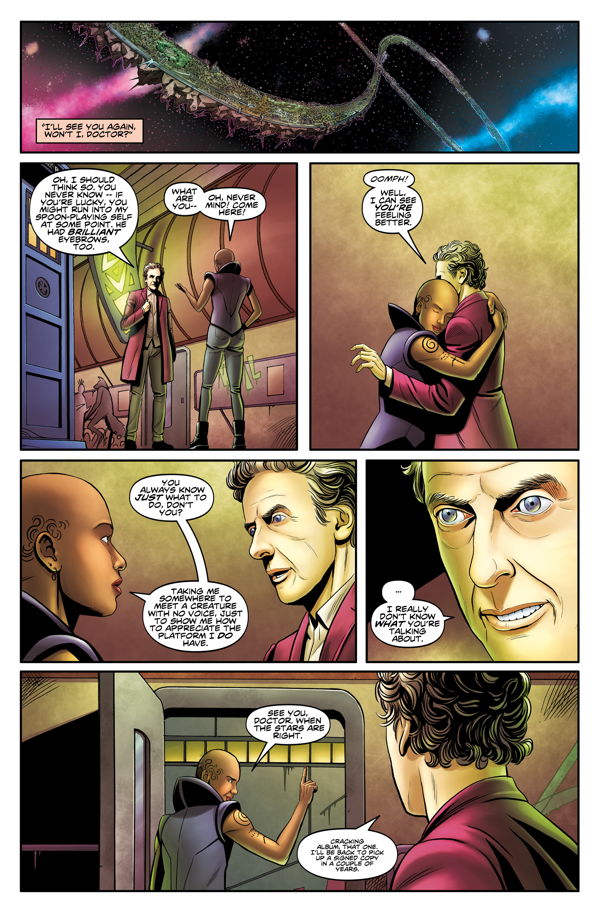 Read online Doctor Who: The Twelfth Doctor Year Three comic -  Issue #4 - 25