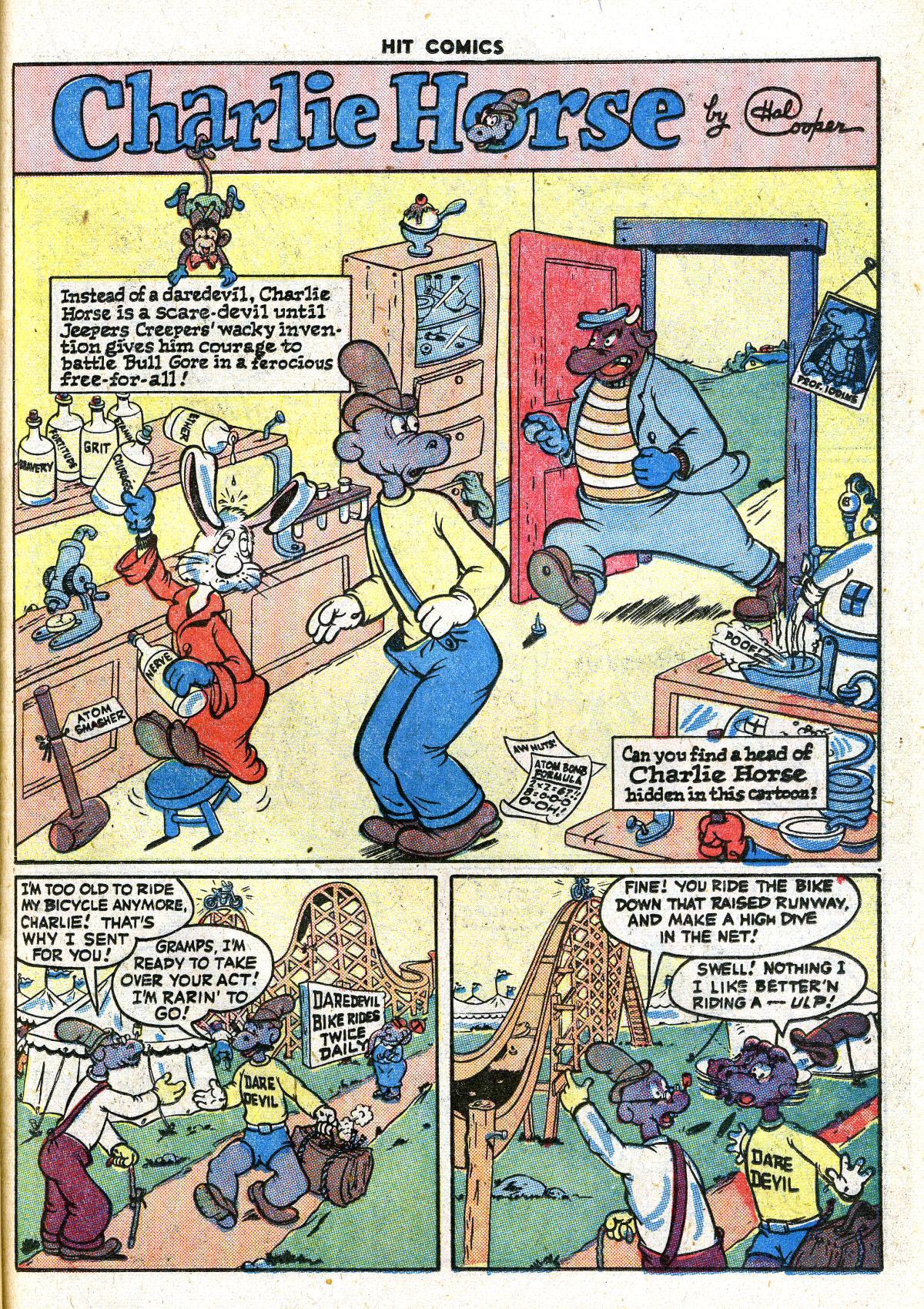 Read online Hit Comics comic -  Issue #41 - 39