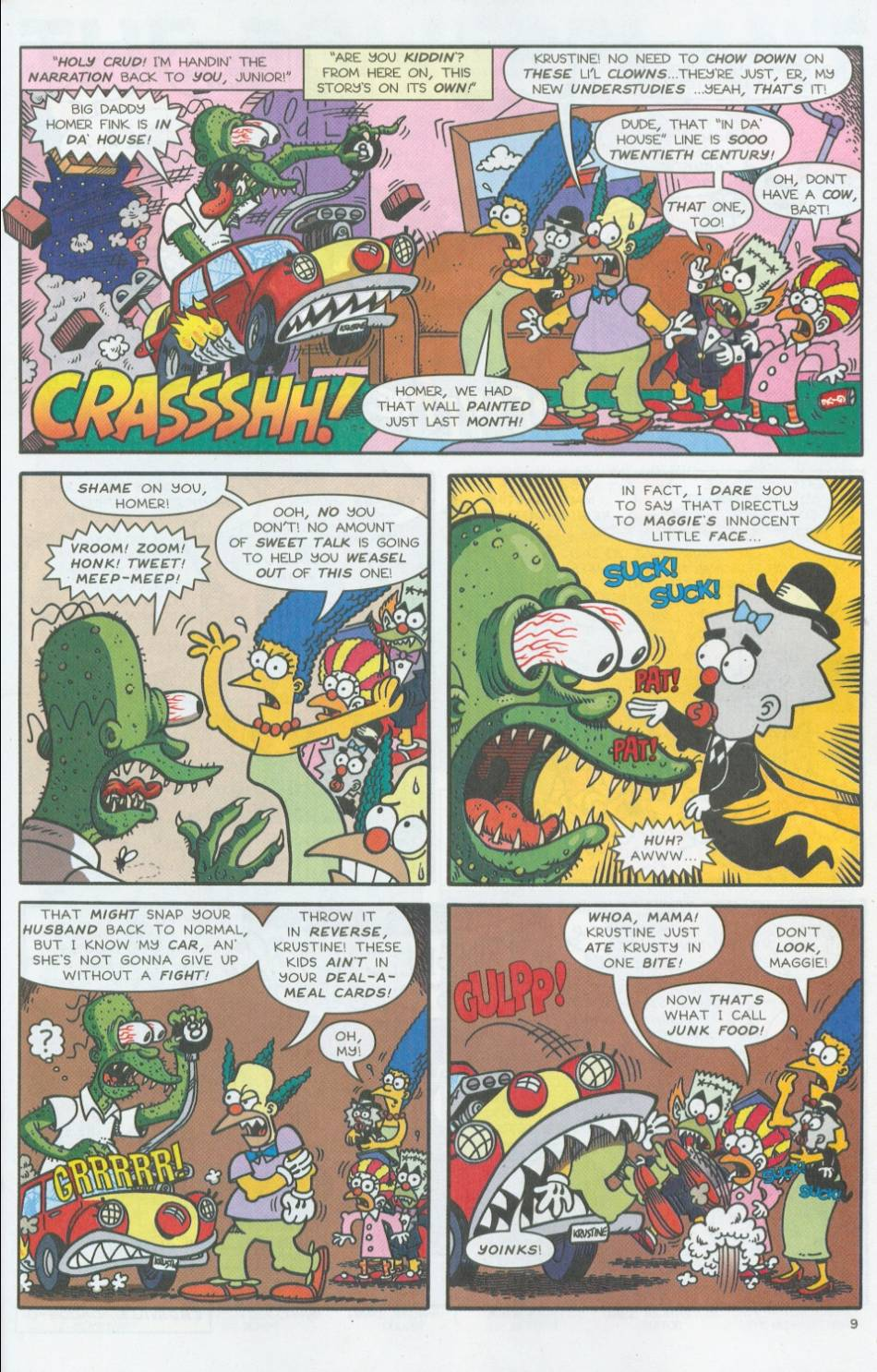 Read online Treehouse of Horror comic -  Issue #8 - 30