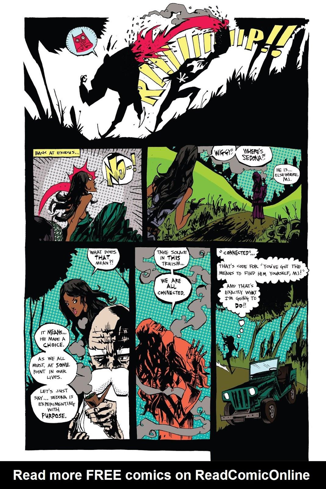 Read online Marijuanaman comic -  Issue # Full - 42