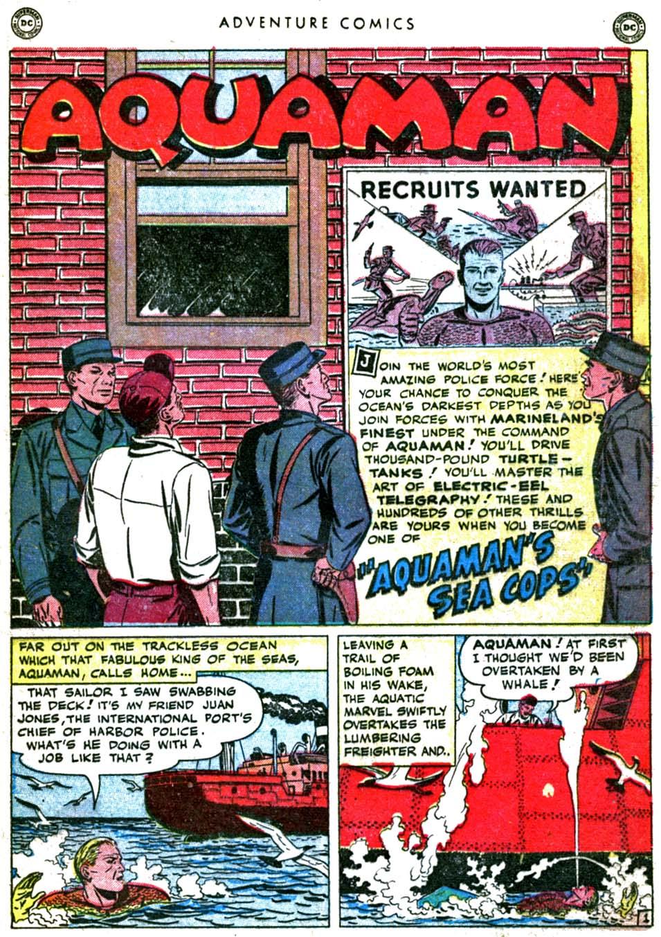 Read online Adventure Comics (1938) comic -  Issue #160 - 17