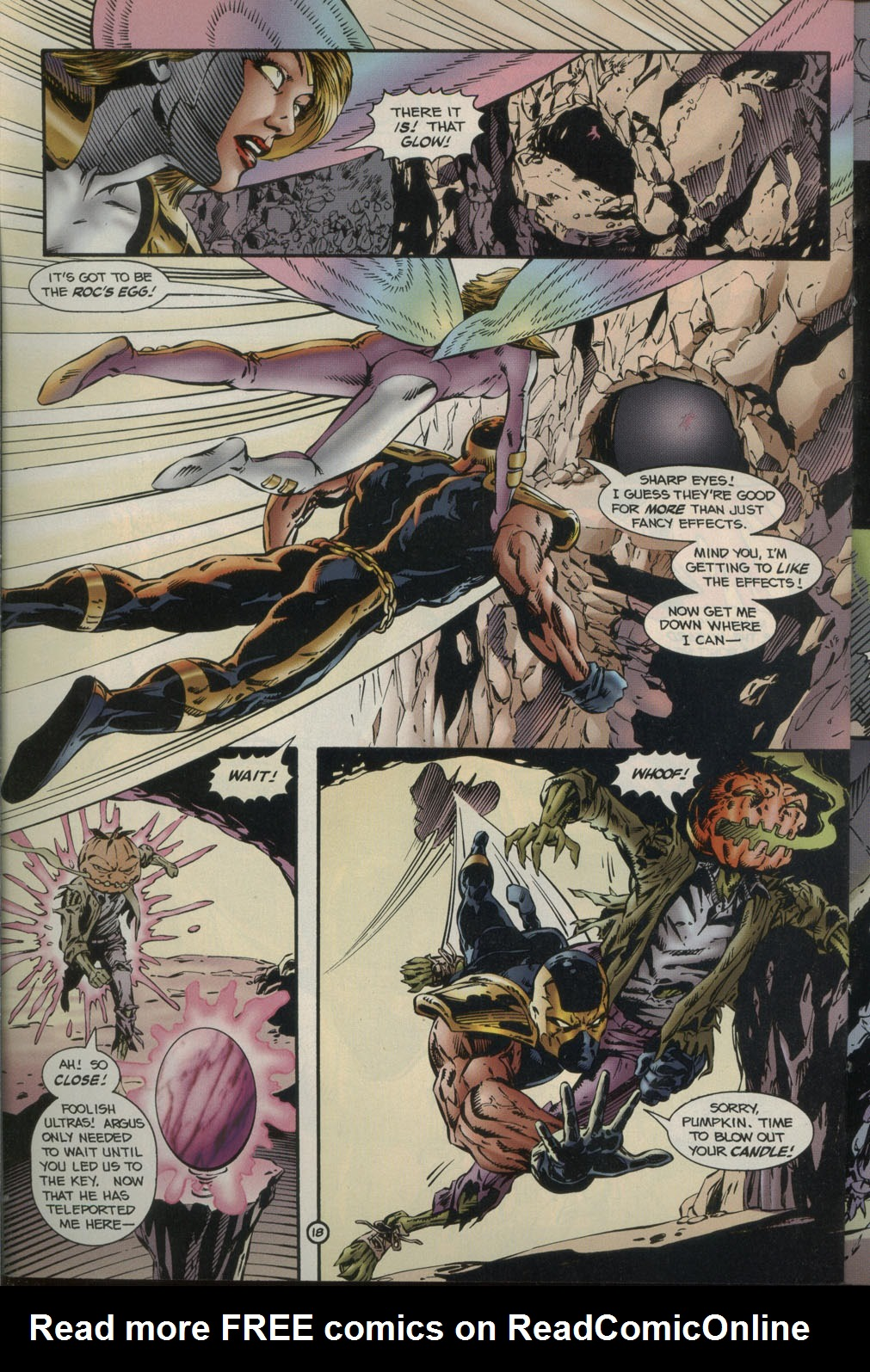 Read online Godwheel comic -  Issue #2 - 21