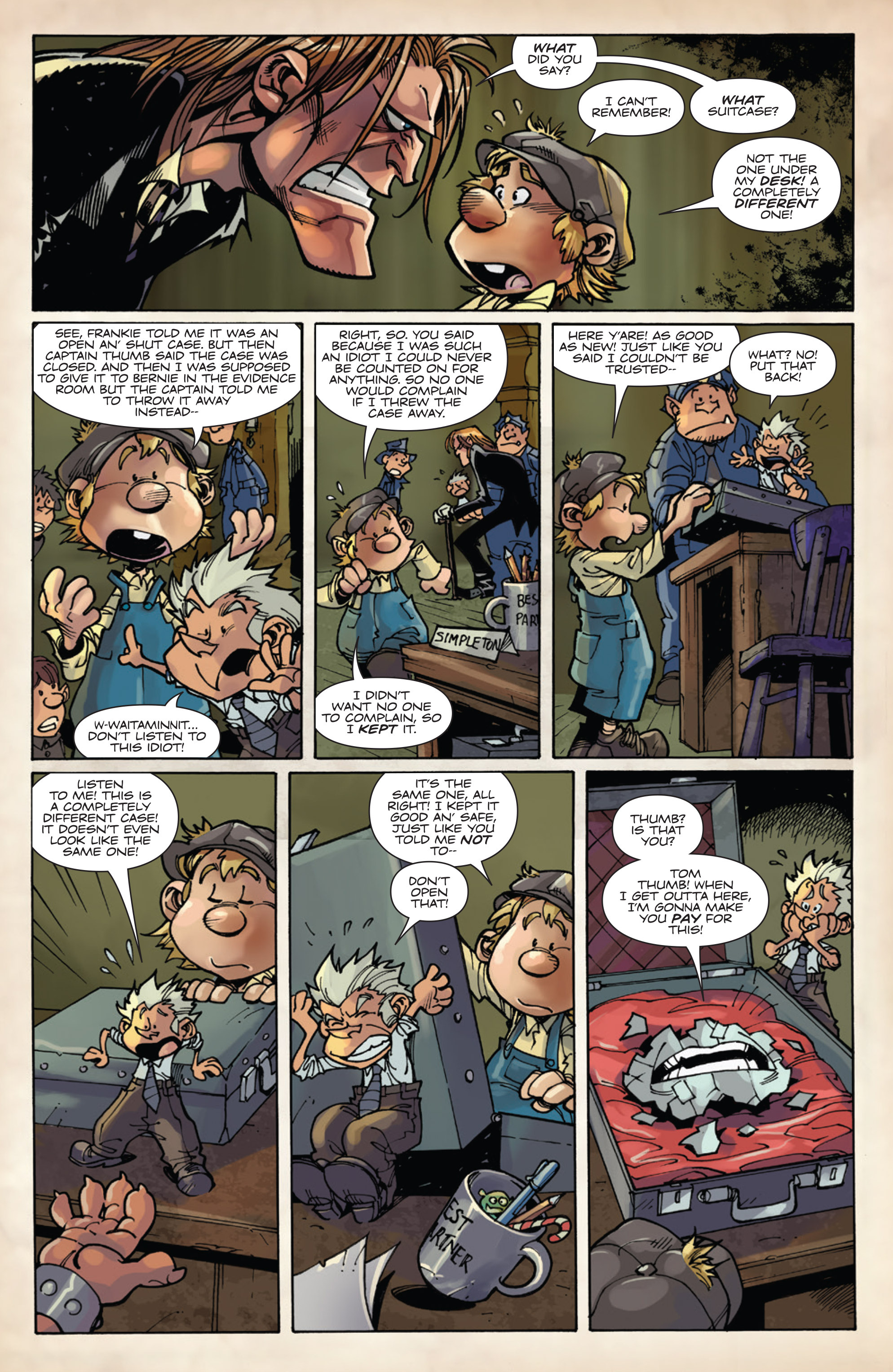 Read online Fiction Squad comic -  Issue #5 - 8