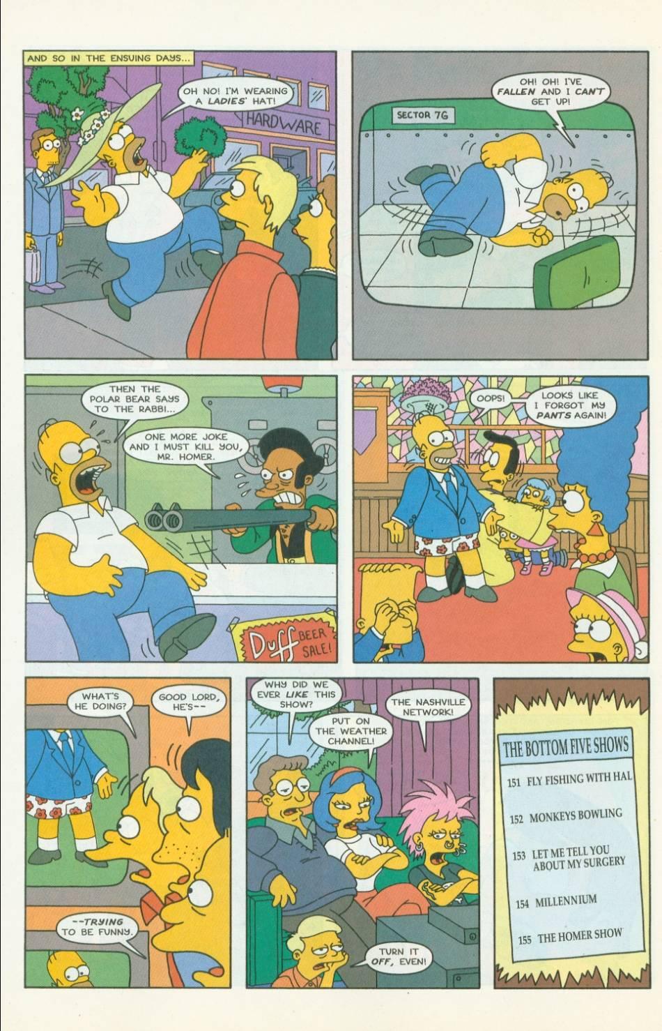 Read online Simpsons Comics comic -  Issue #42 - 21