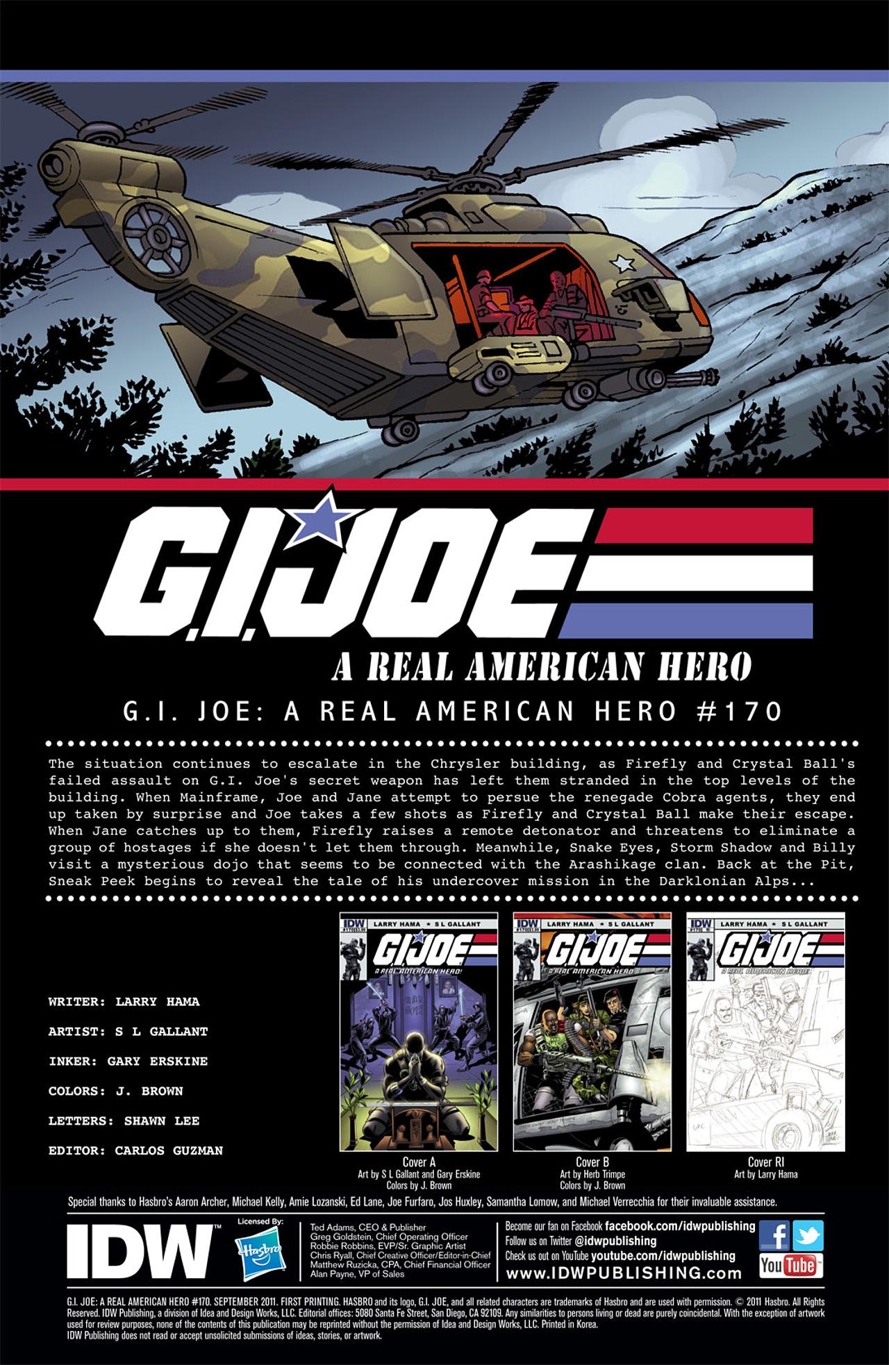 G.I. Joe: A Real American Hero 170 Page 3