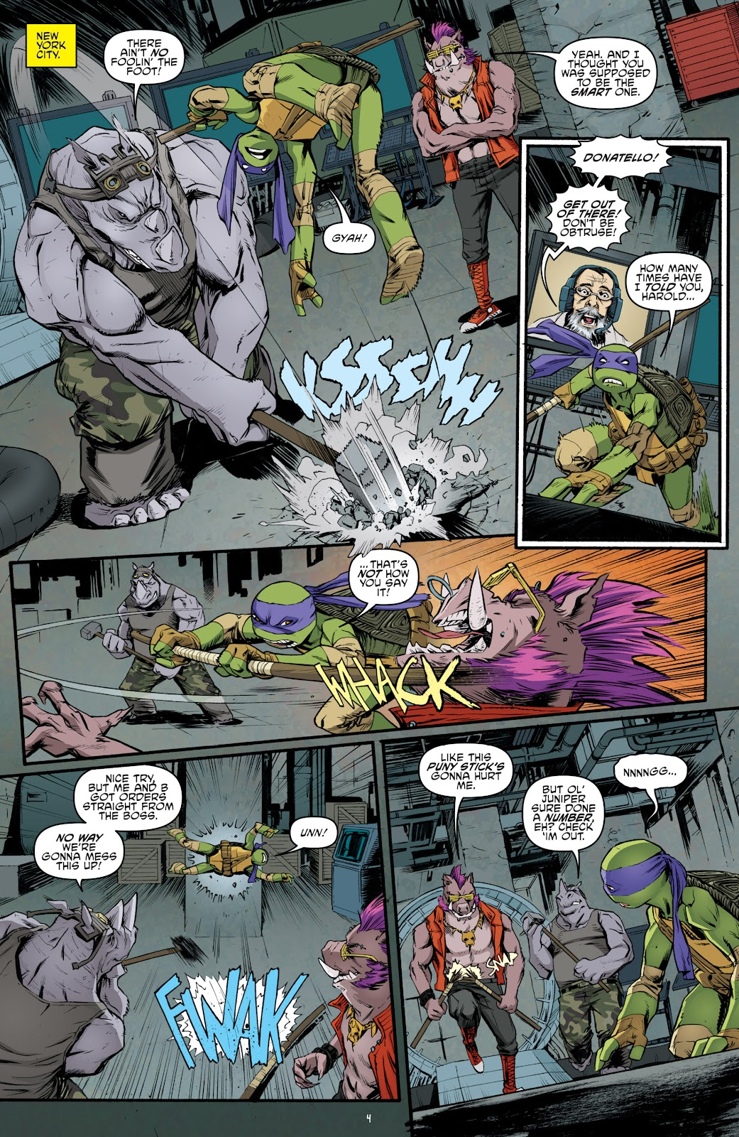 Read online Teenage Mutant Ninja Turtles: The IDW Collection comic -  Issue # TPB 5 (Part 4) - 36