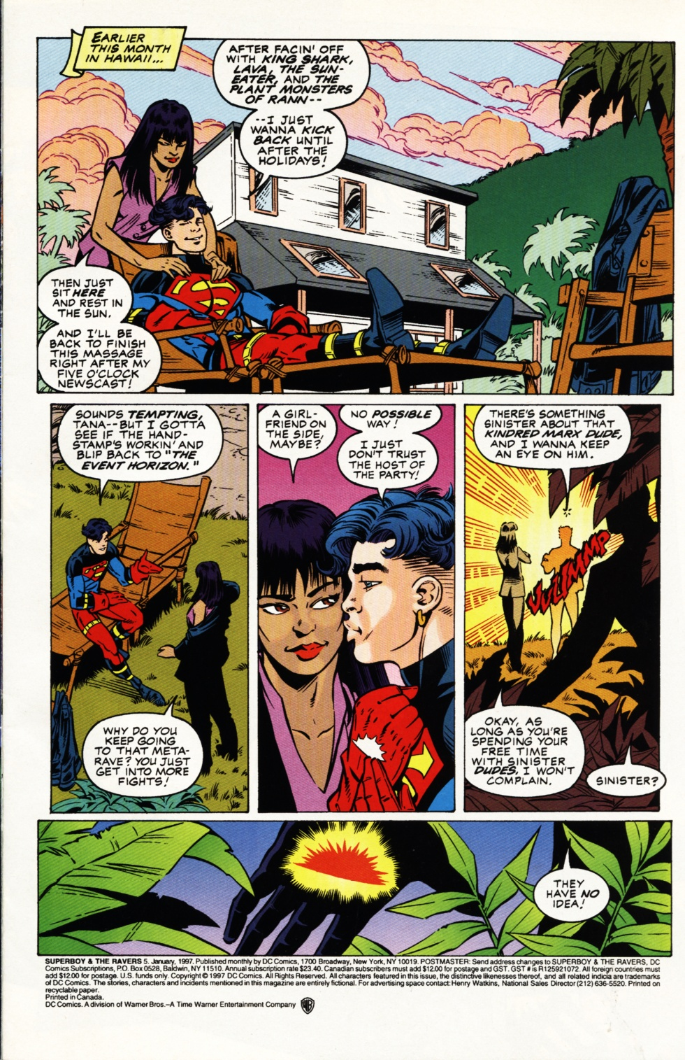 Read online Superboy & The Ravers comic -  Issue #5 - 2