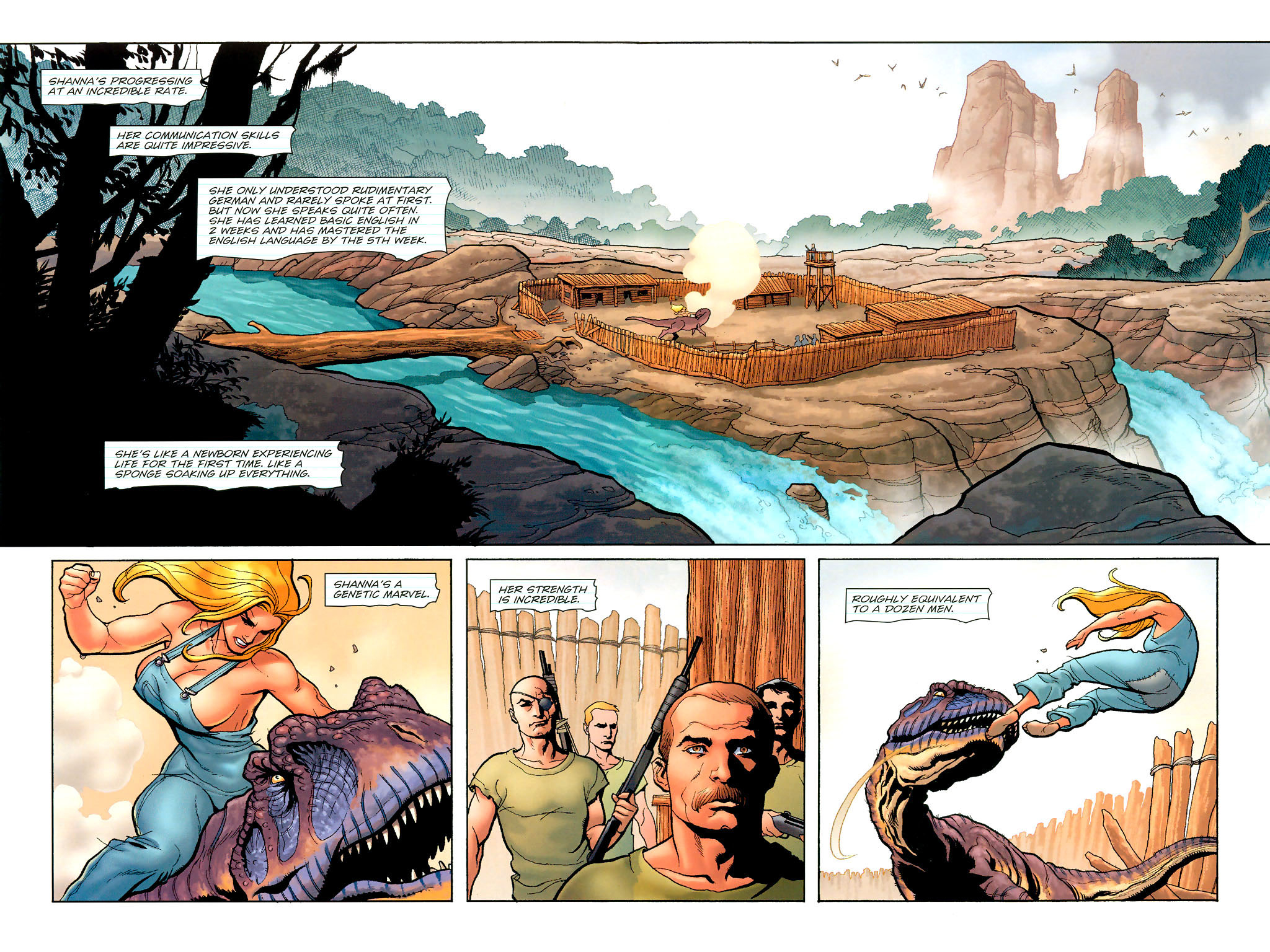 Read online Shanna, the She-Devil (2005) comic -  Issue #2 - 3