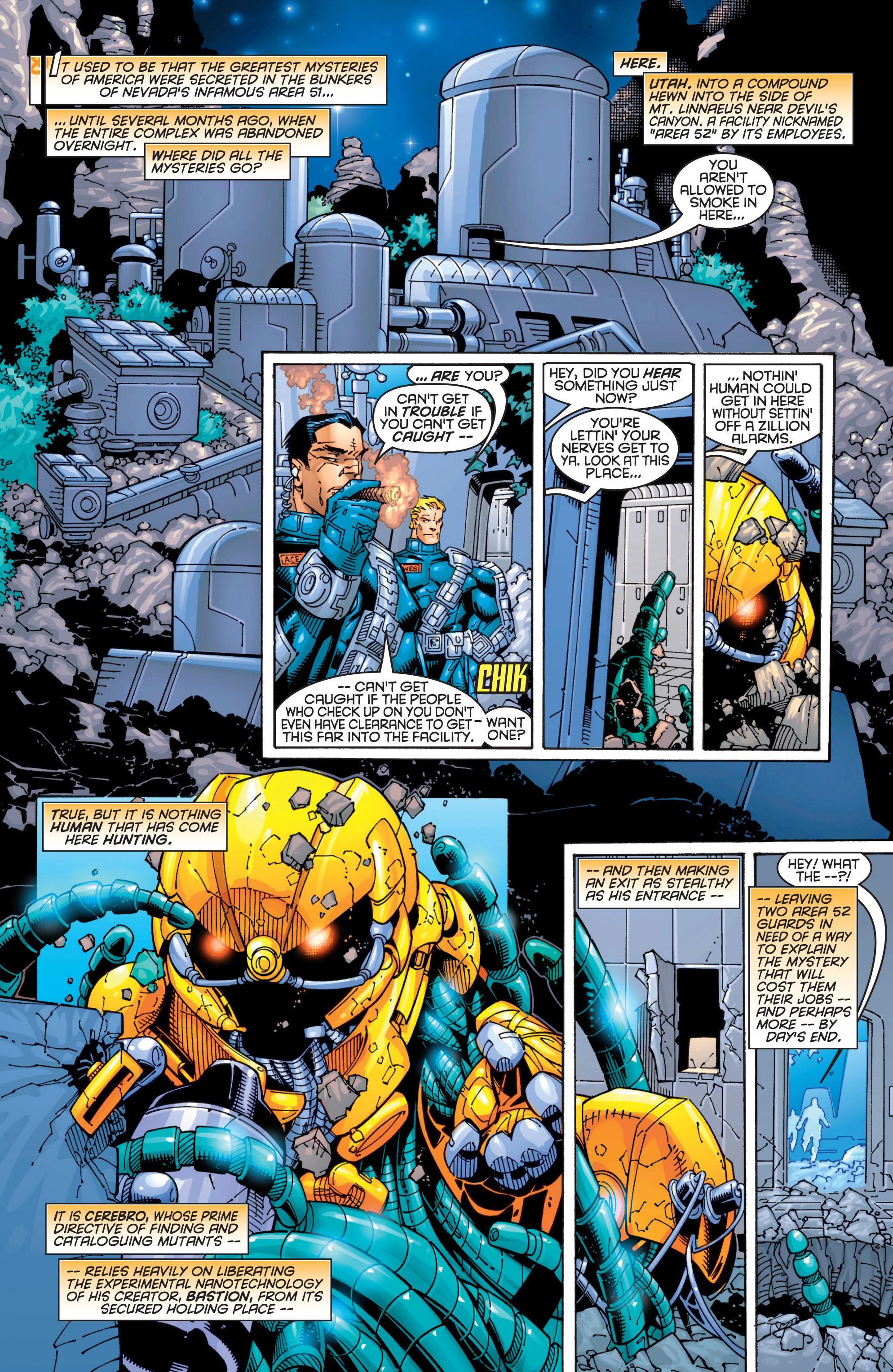 Read online Uncanny X-Men (1963) comic -  Issue #363 - 13
