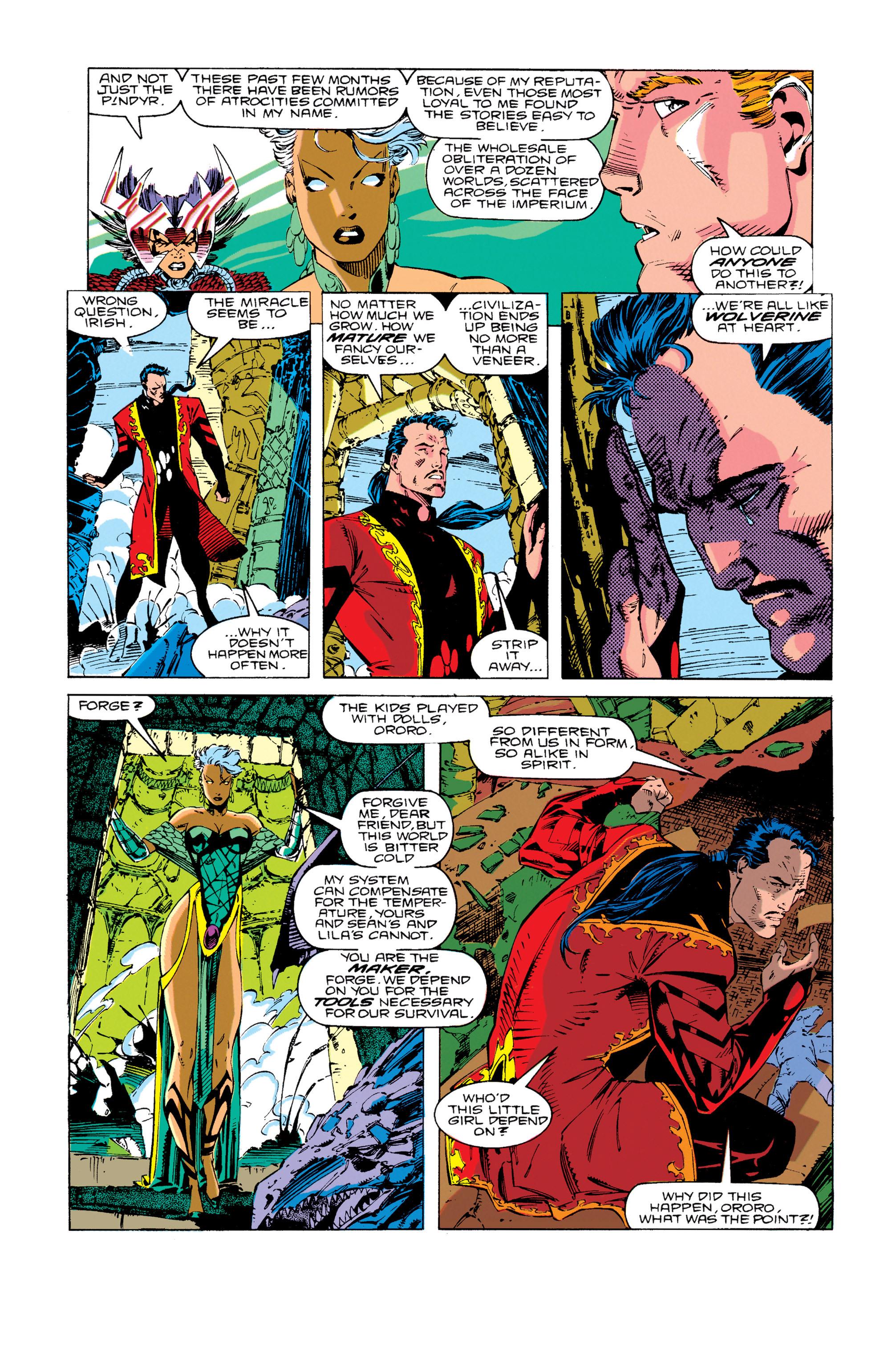 Read online Uncanny X-Men (1963) comic -  Issue #276 - 16