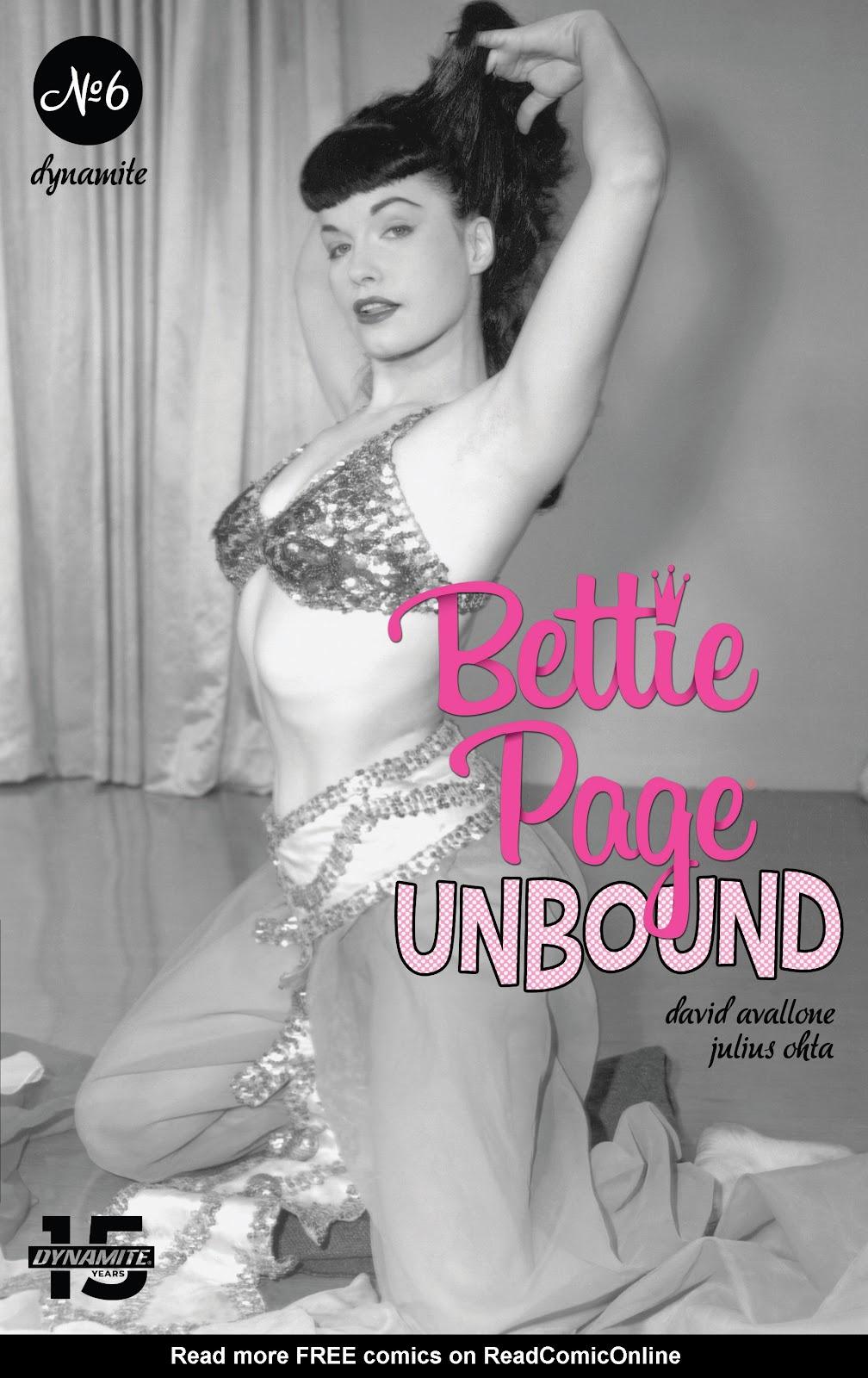 Read online Bettie Page: Unbound comic -  Issue #6 - 5