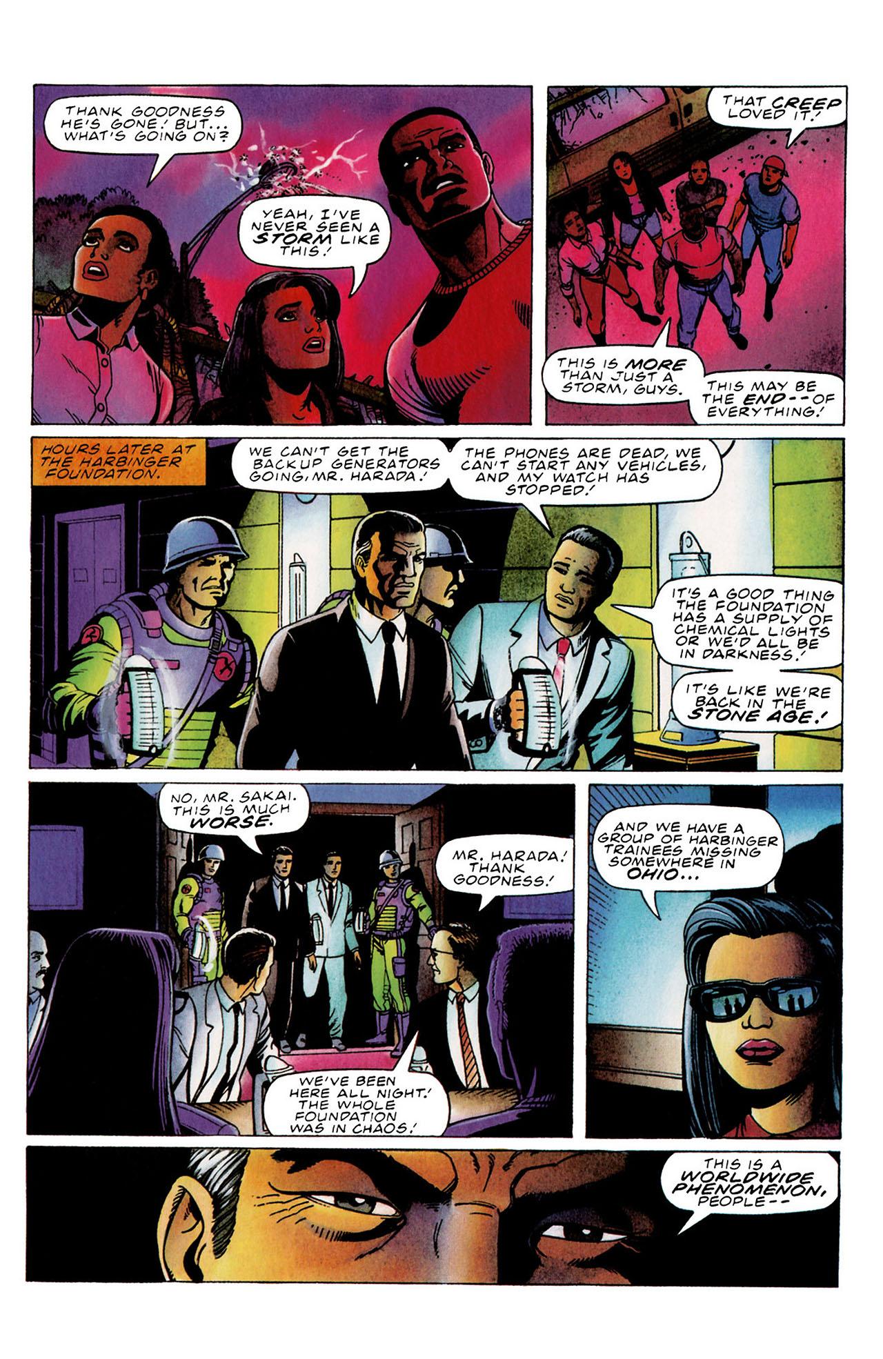 Read online Harbinger (1992) comic -  Issue #34 - 11