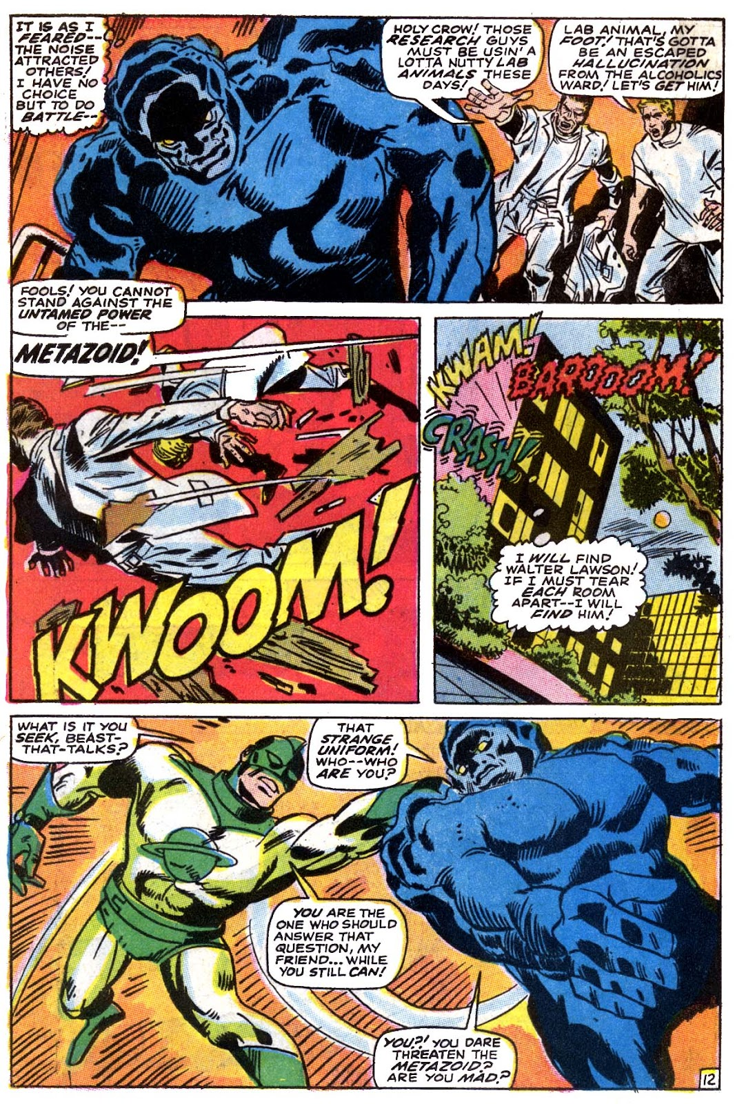 Captain Marvel (1968) issue 5 - Page 13