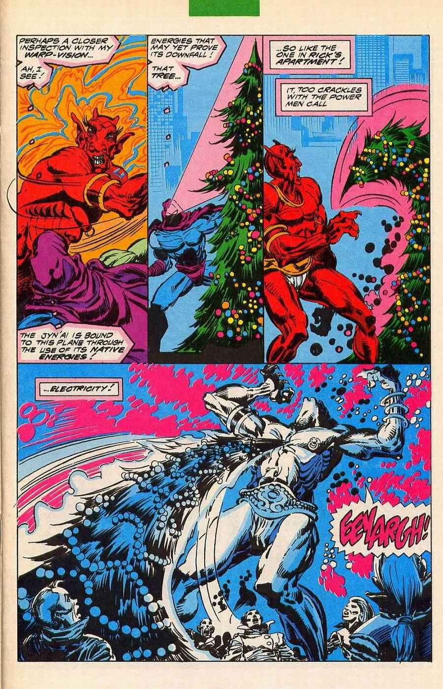 Read online Sleepwalker Holiday Special comic -  Issue # Full - 24