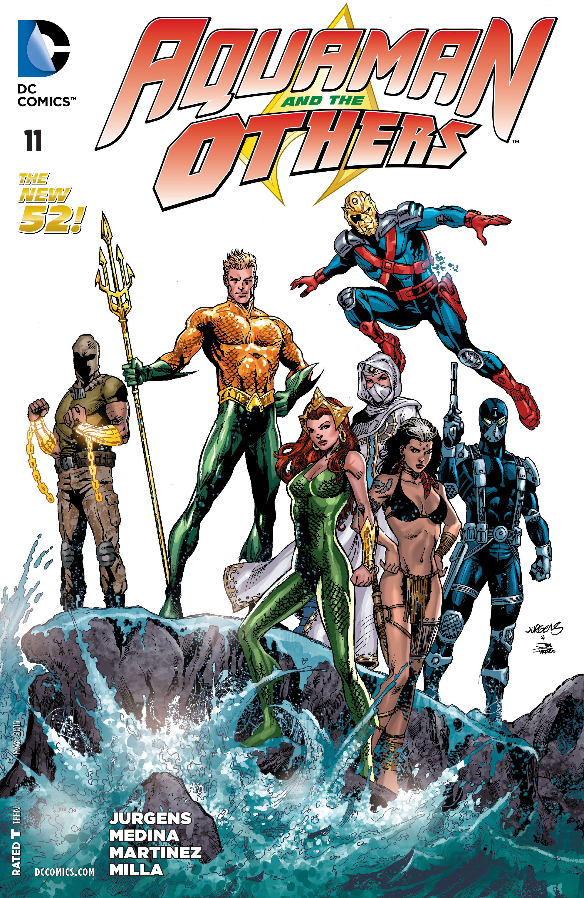 Read online Aquaman and the Others comic -  Issue #11 - 1