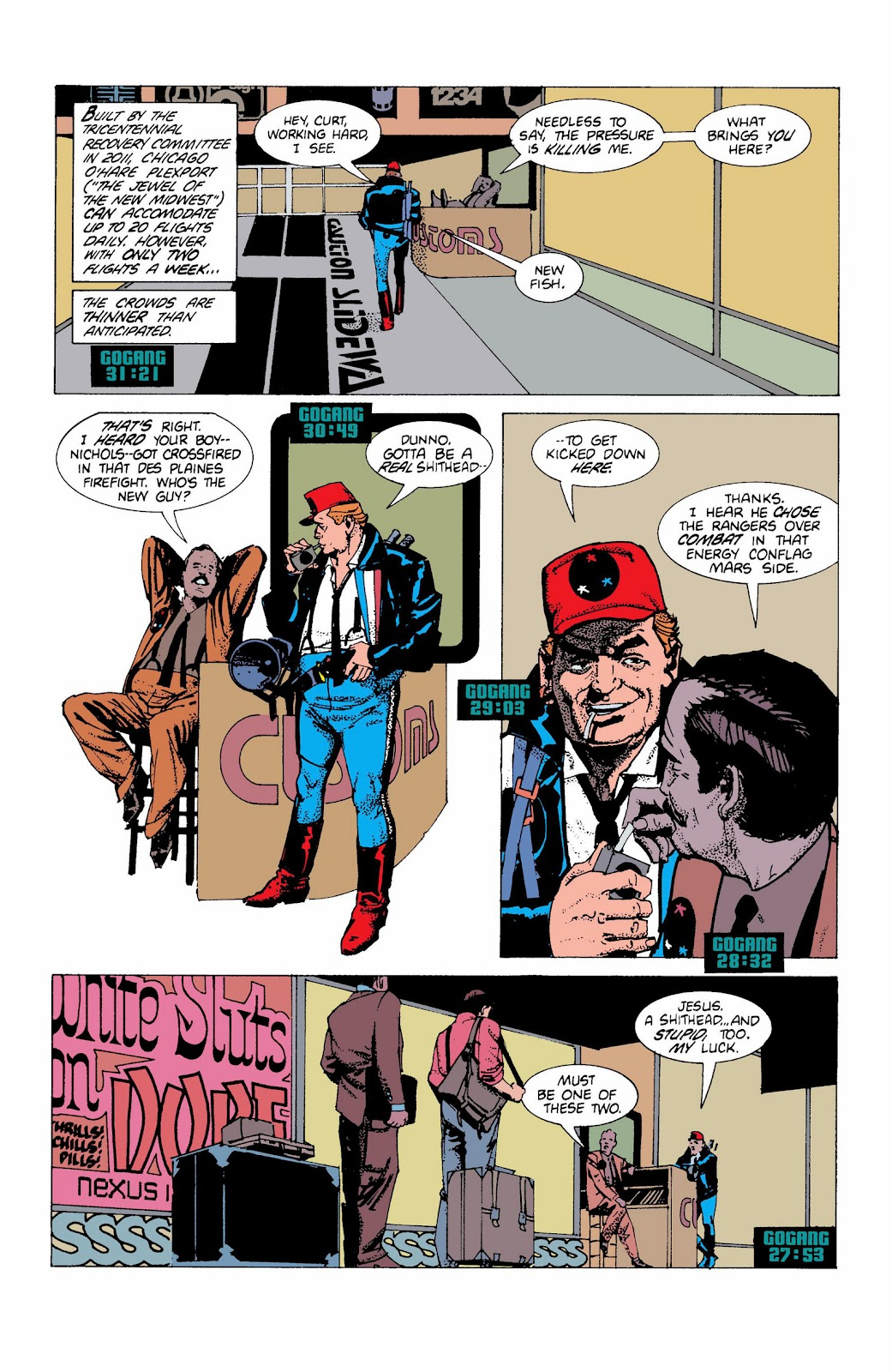 American Flagg! issue Definitive Collection (Part 1) - Page 25