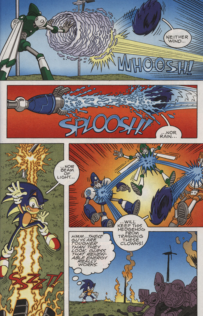 Read online Sonic X comic -  Issue #28 - 11