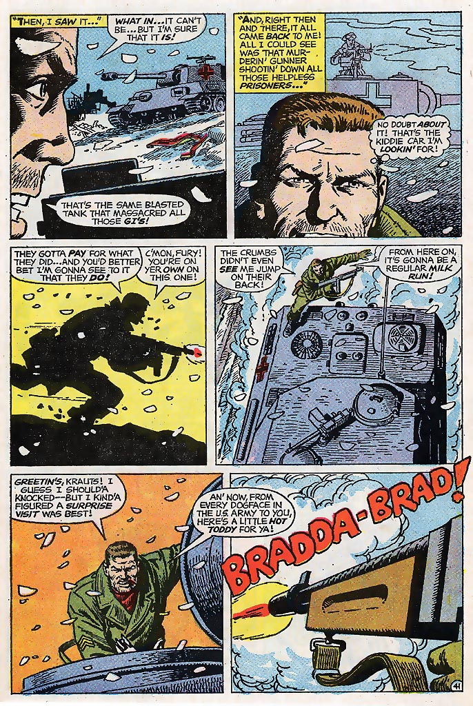Read online Sgt. Fury comic -  Issue # _Special 4 - 51