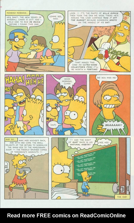 Read online Simpsons Comics comic -  Issue #4 - 22
