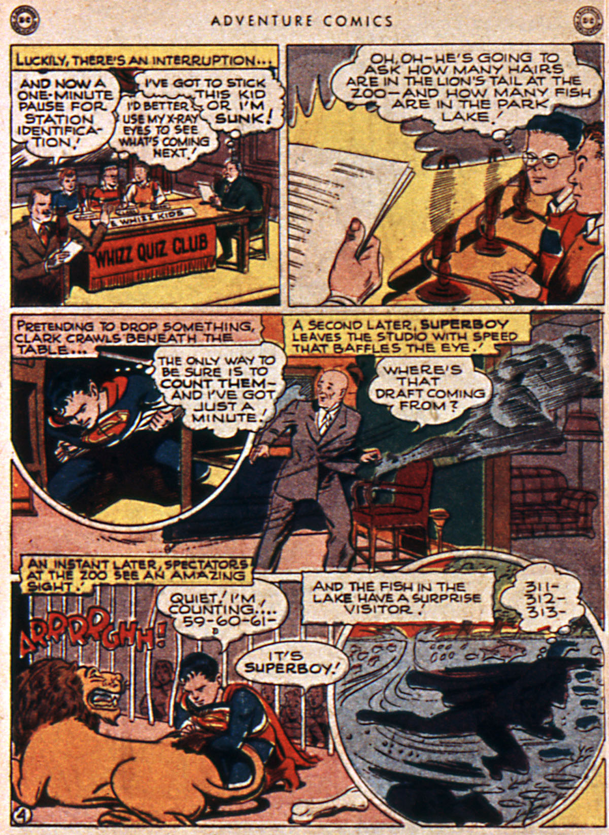 Read online Adventure Comics (1938) comic -  Issue #111 - 6