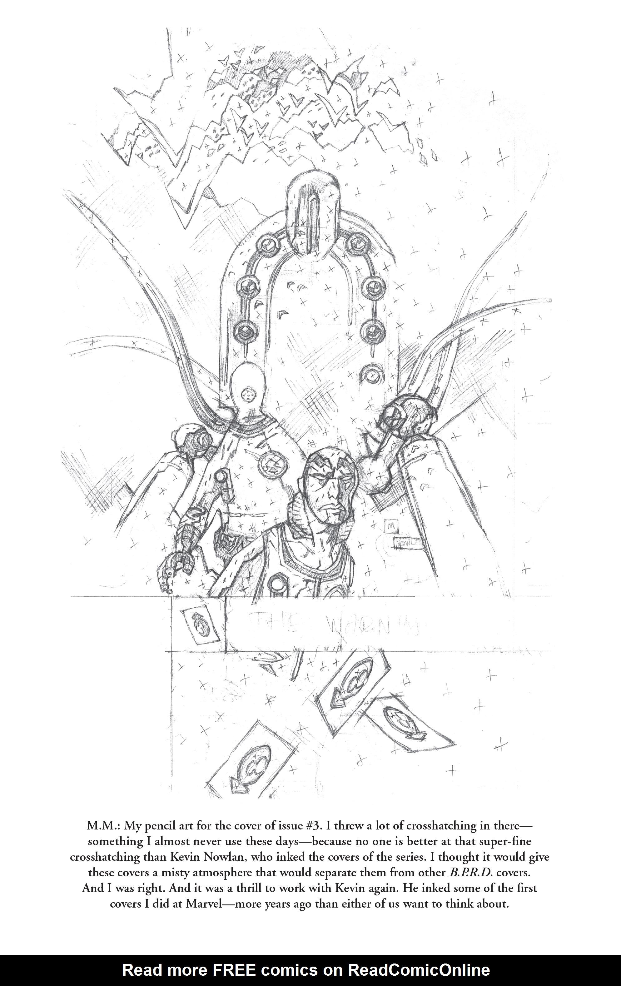 Read online B.P.R.D. (2003) comic -  Issue # TPB 10 - 144