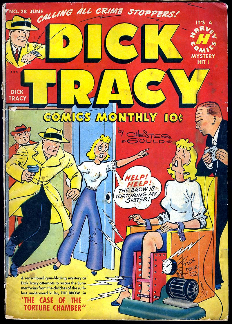 Dick Tracy (1950) 28 Page 1