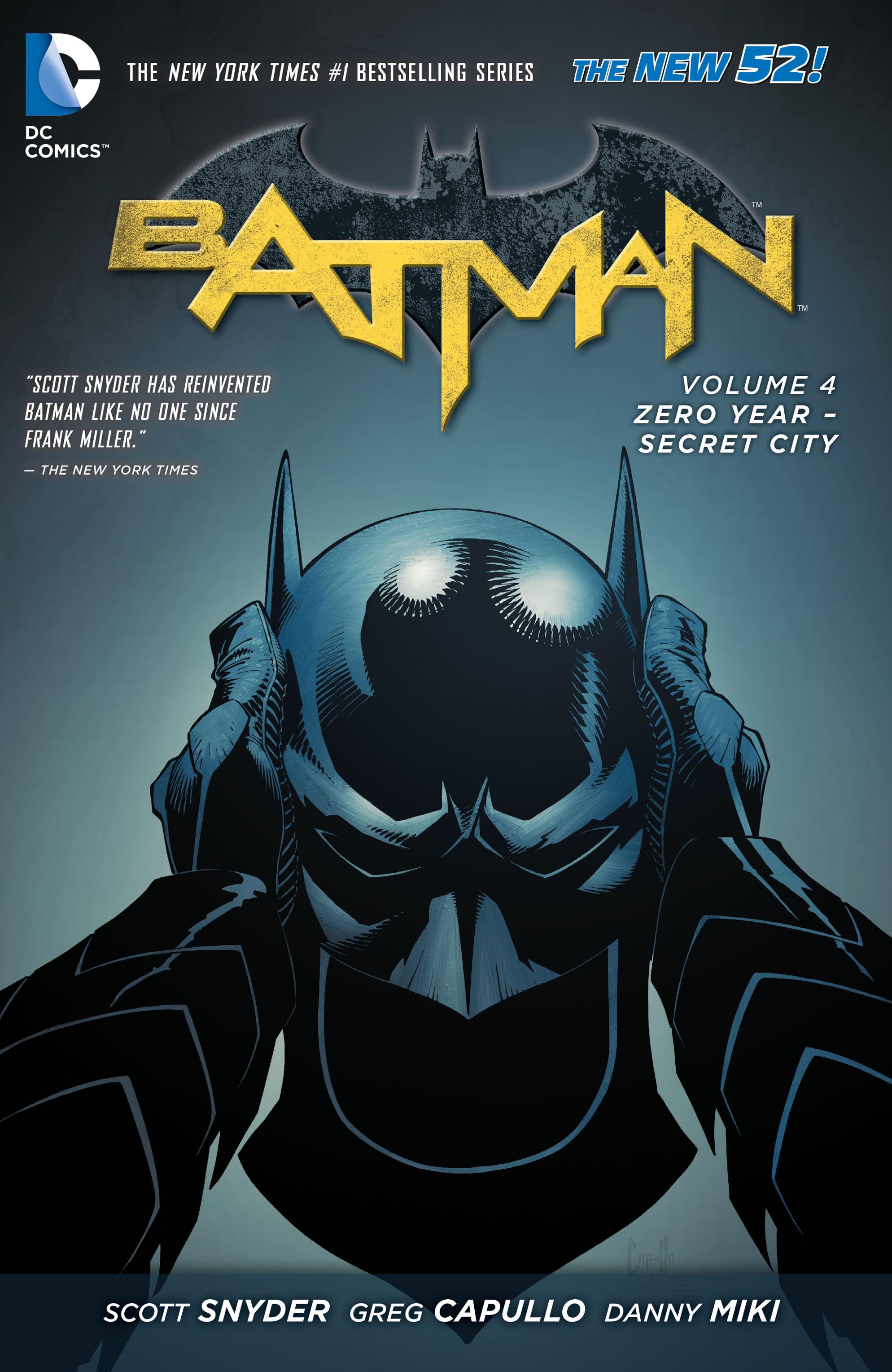 Batman: Zero Year - Secret City TPB Page 1
