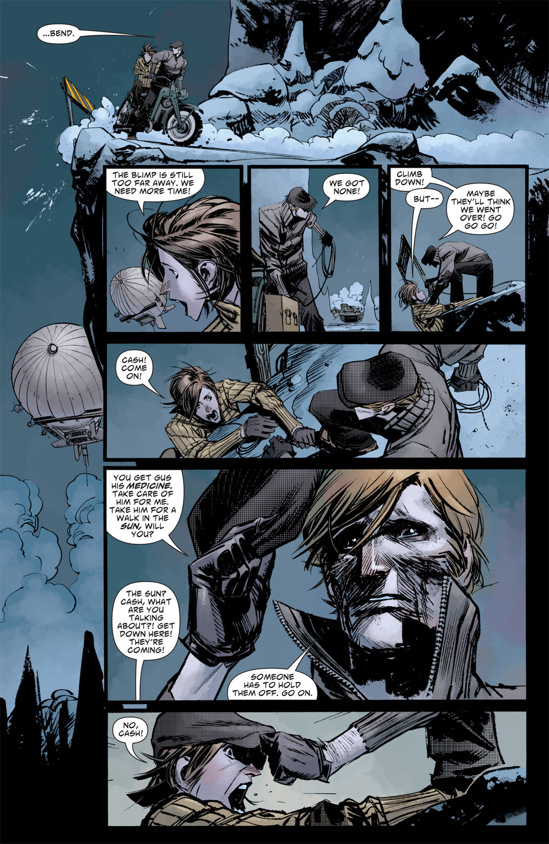 Read online American Vampire: Survival of the Fittest comic -  Issue #5 - 10
