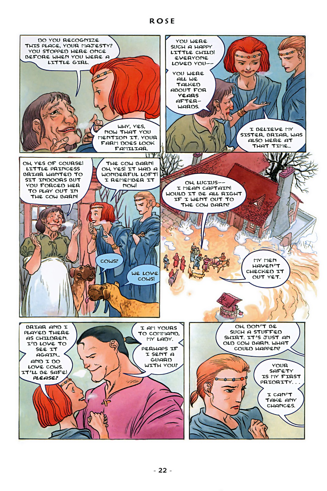 Read online Rose (2000) comic -  Issue # TPB - 28