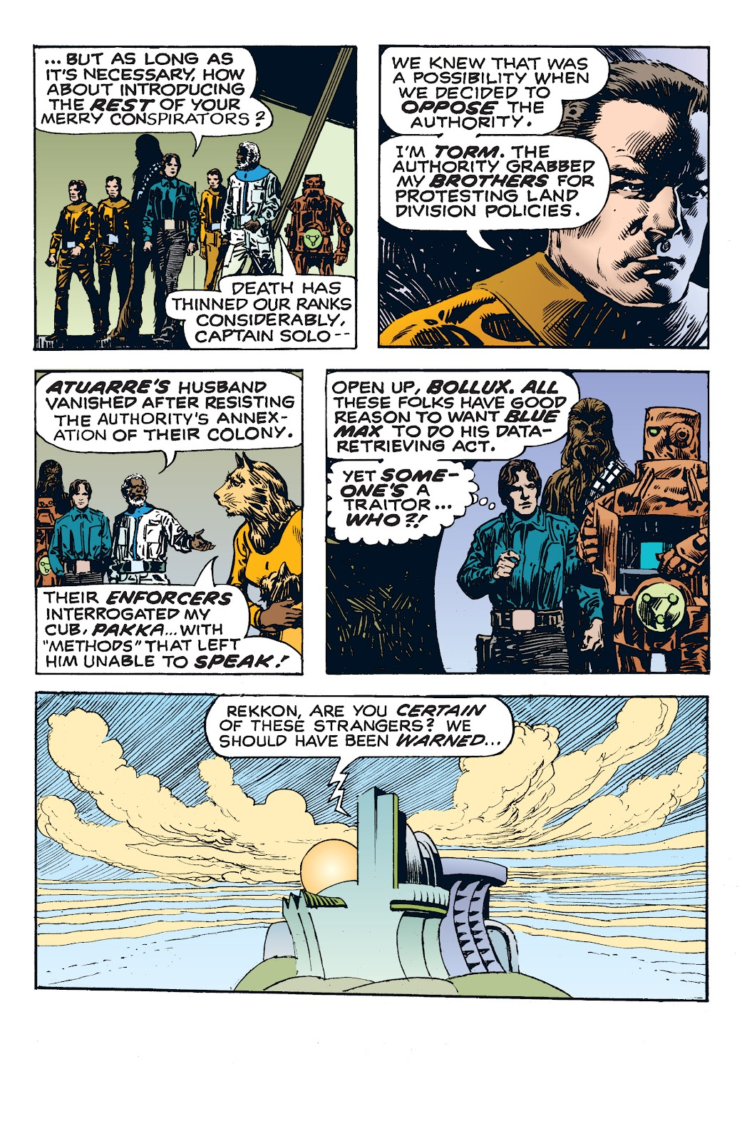 Read online Star Wars Legends: The Newspaper Strips - Epic Collection comic -  Issue # TPB (Part 4) - 27