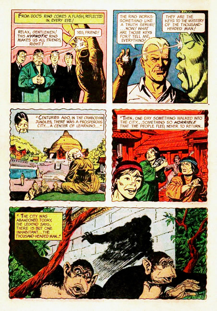 Read online Doc Savage (1966) comic -  Issue # Full - 10