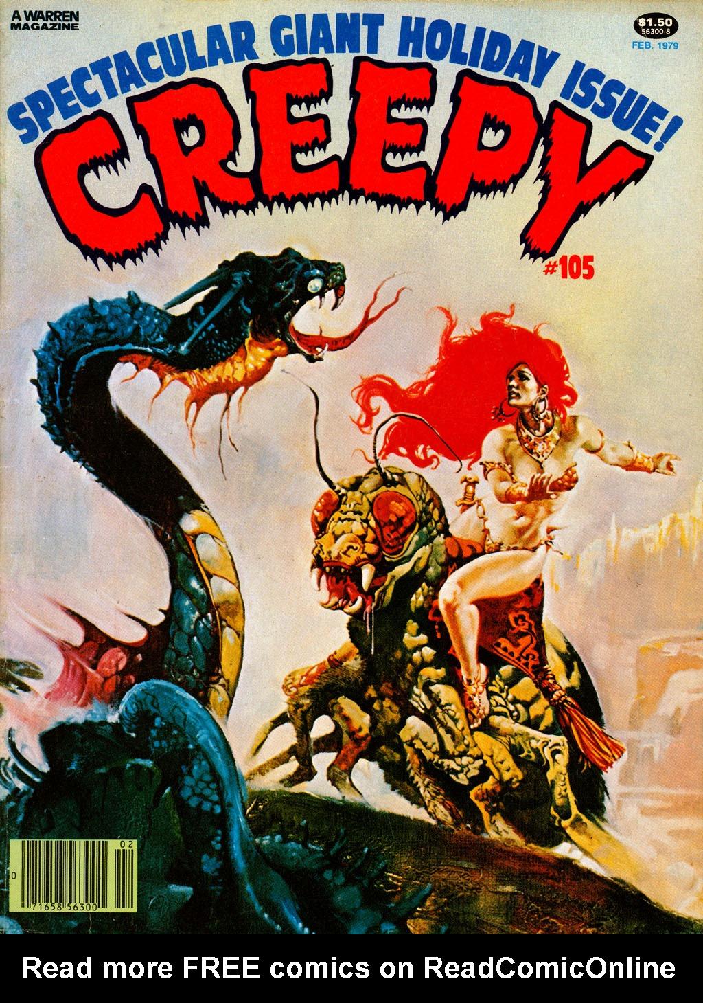 Creepy (1964) 105 Page 1