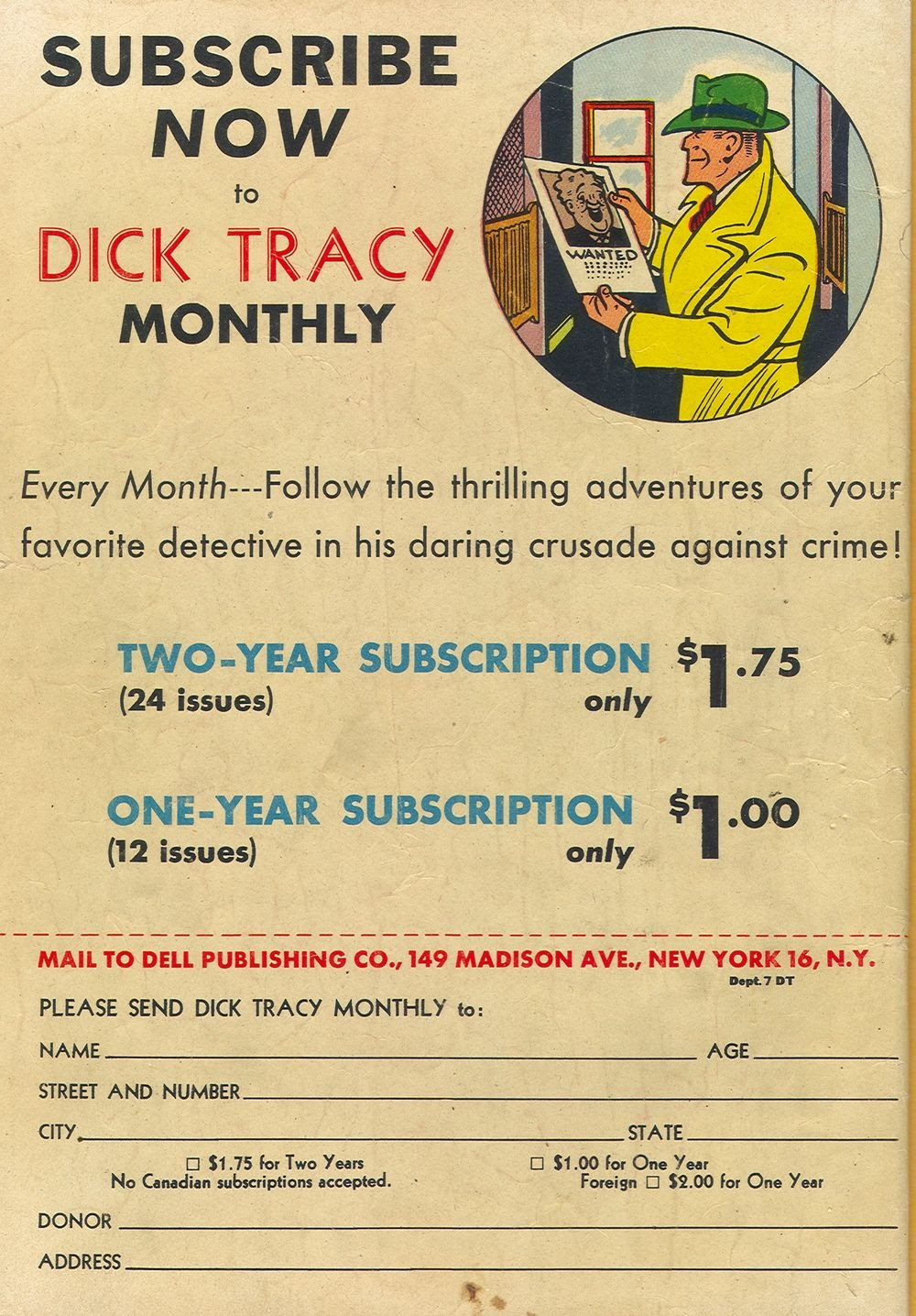 Dick Tracy Monthly 7 Page 36