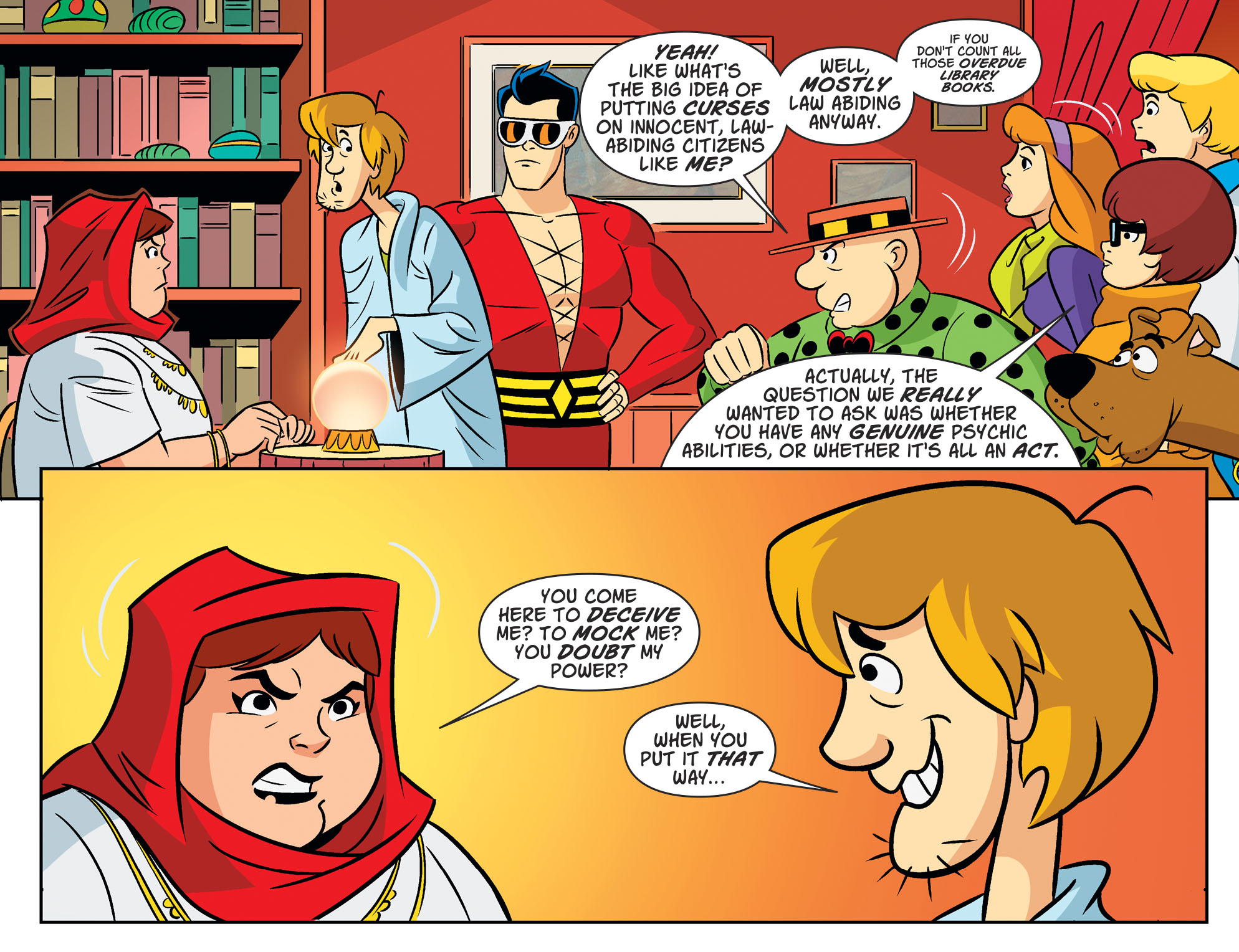 Read online Scooby-Doo! Team-Up comic -  Issue #53 - 22