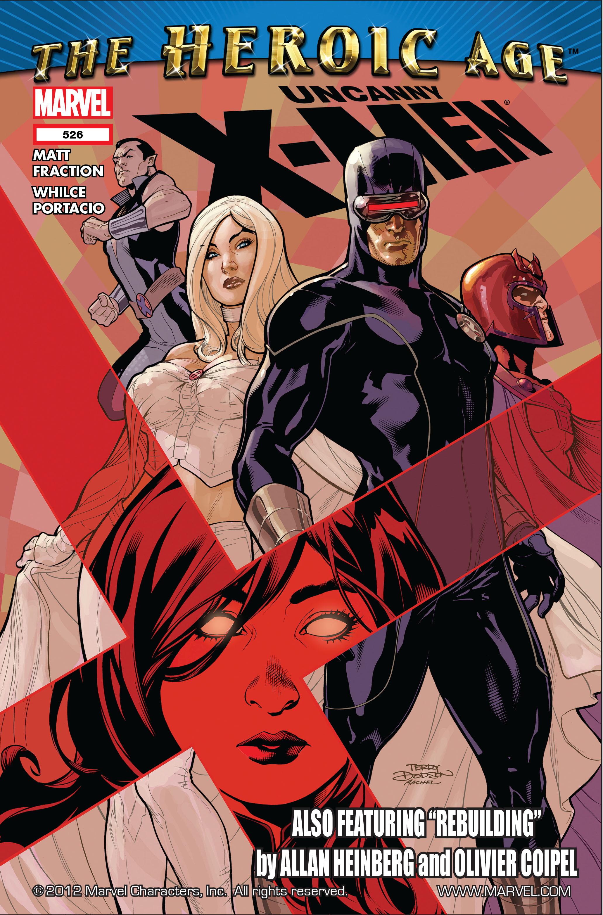 Uncanny X-Men (1963) 526 Page 1
